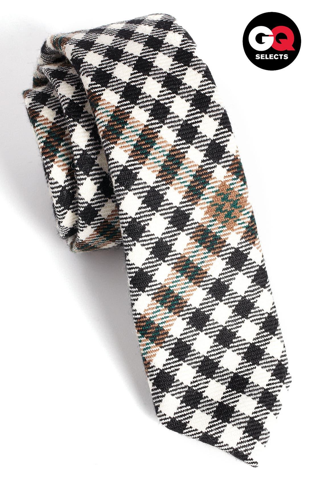 Alternate Image 1 Selected - David Hart Diagonal Check Tie