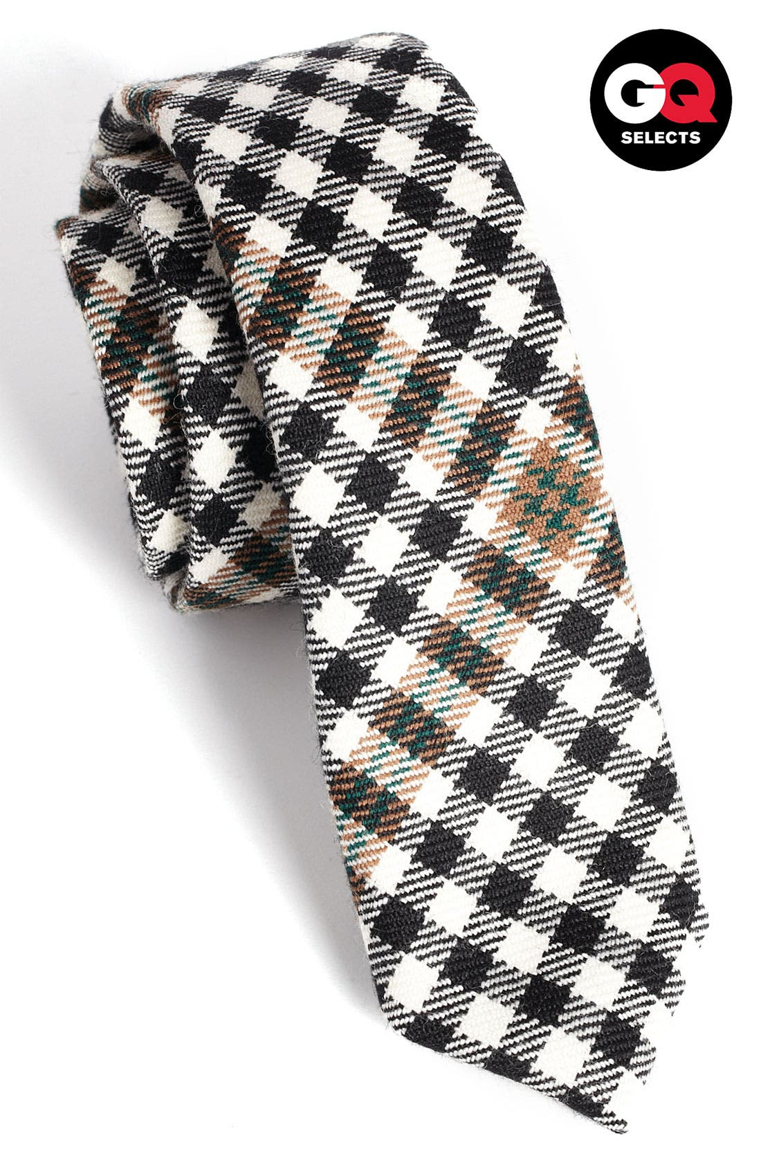 Main Image - David Hart Diagonal Check Tie