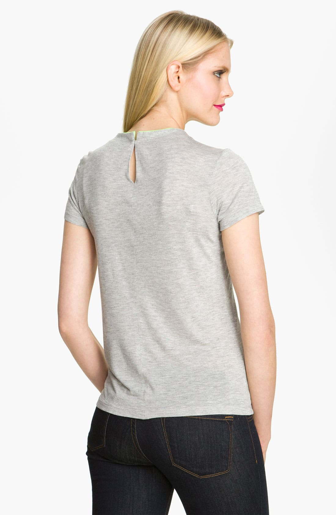 Alternate Image 2  - Heed Rosette Trim Tee