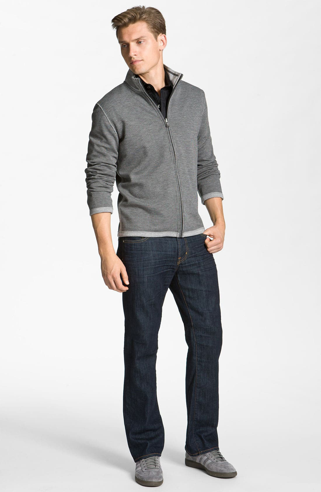 Alternate Image 4  - AG Jeans 'Regent' Bootcut Jeans (1 Year Freshman)