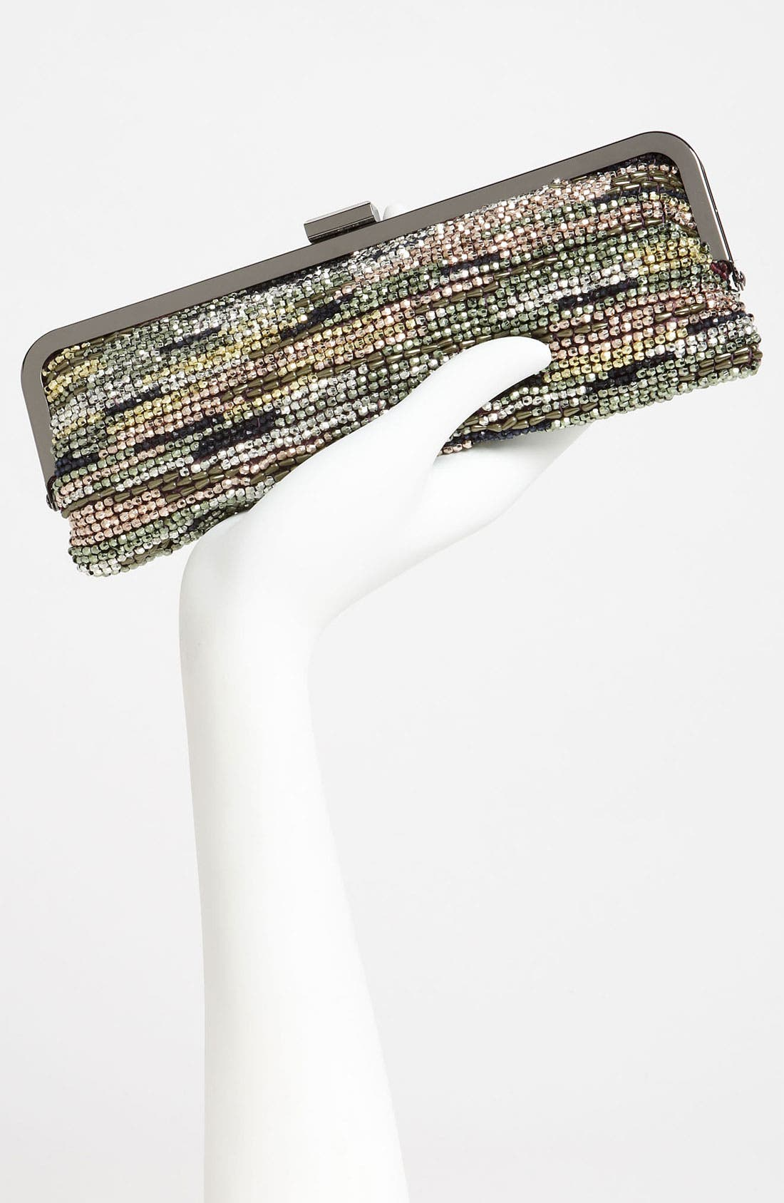 Alternate Image 2  - Nina Beaded Frame Clutch