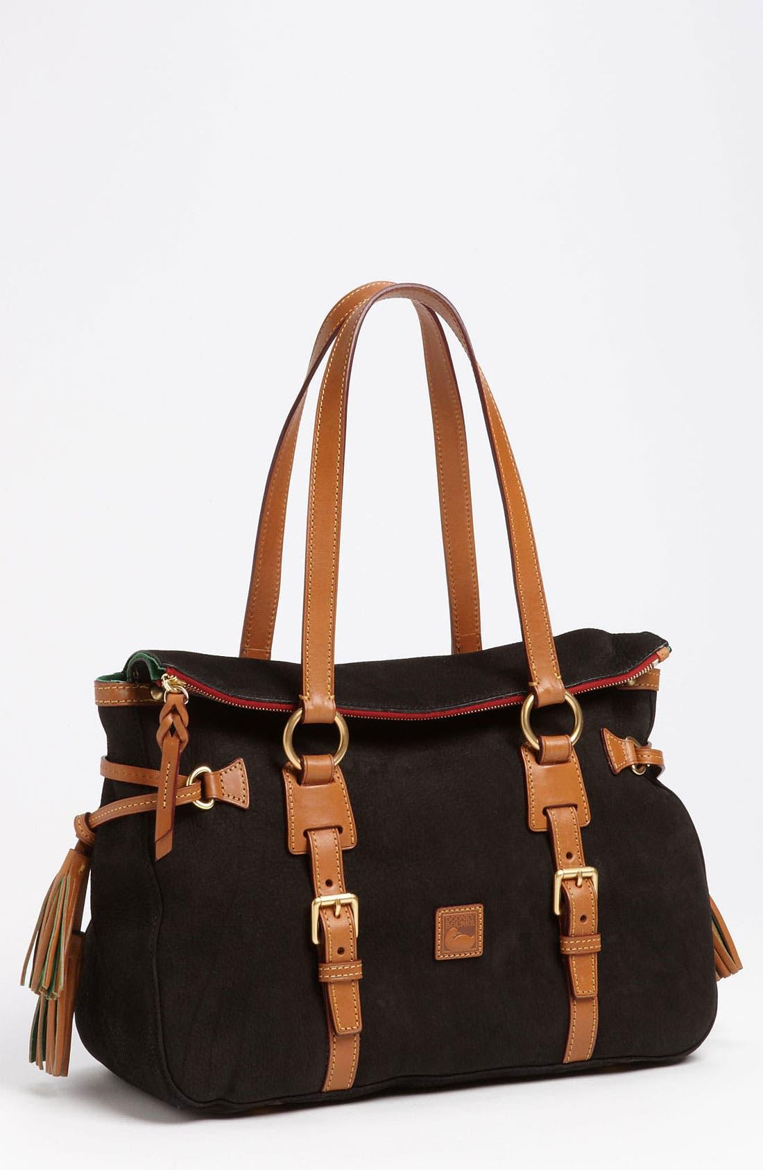 Main Image - Dooney & Bourke 'Double Strap Tassel' Satchel (Nordstrom Exclusive)