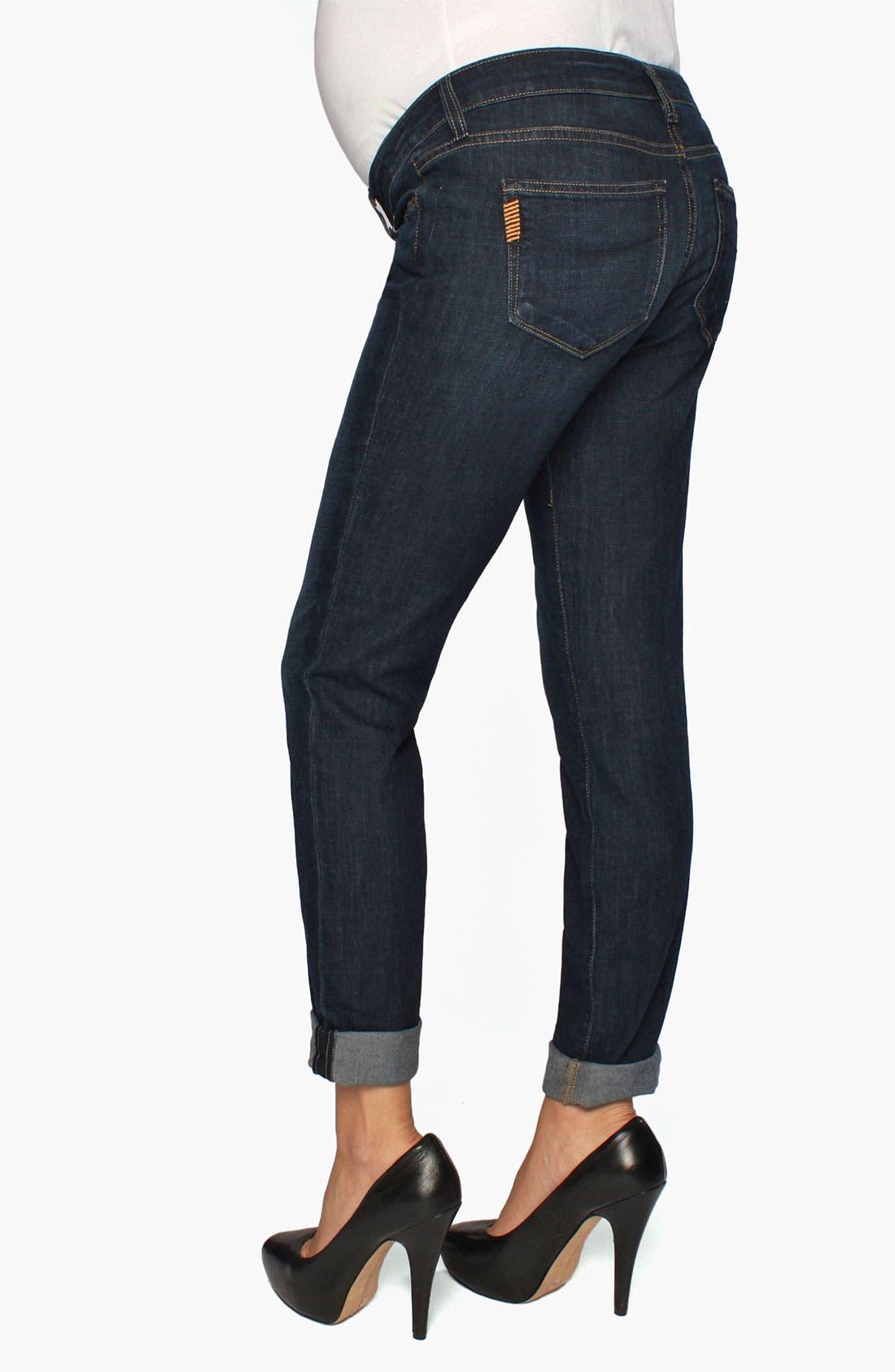 Main Image - Paige Denim 'Jimmy Jimmy Westbourne' Maternity Skinny Jeans (Gavin)