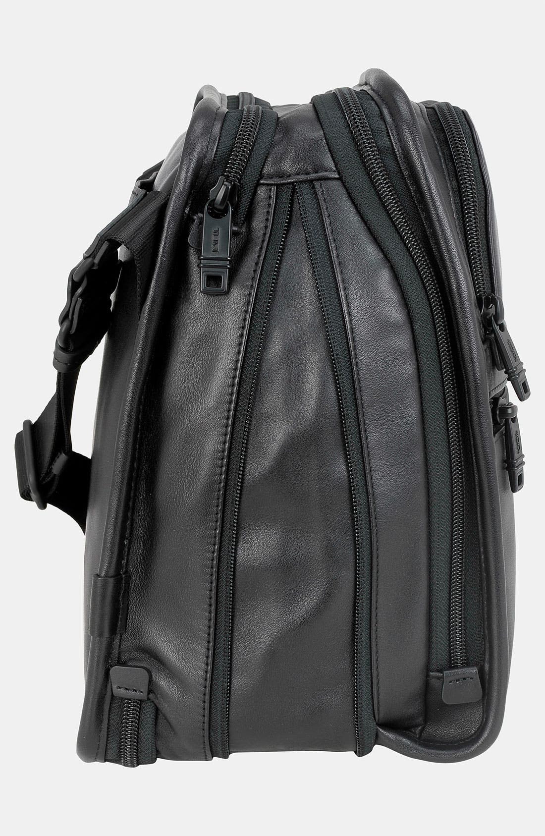 Alternate Image 4  - Tumi 'Alpha' Organizer Travel Leather Tote
