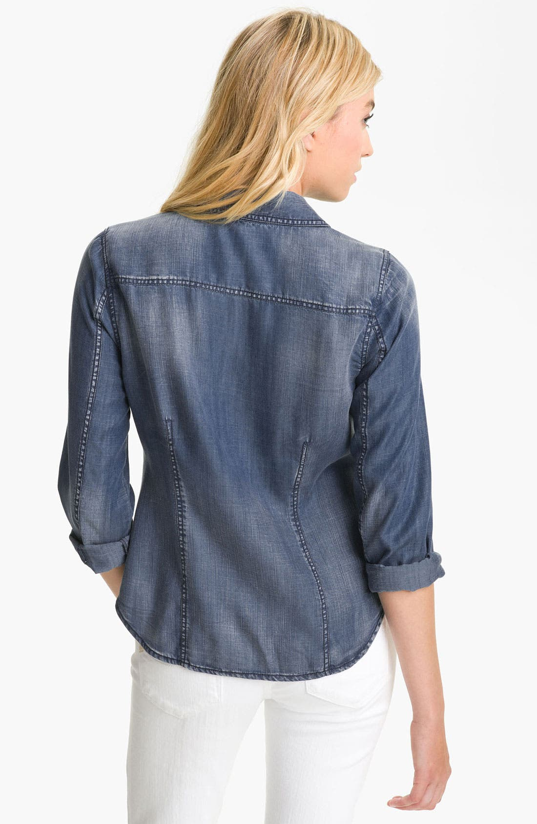 Alternate Image 2  - Trouvé Faded Denim Shirt
