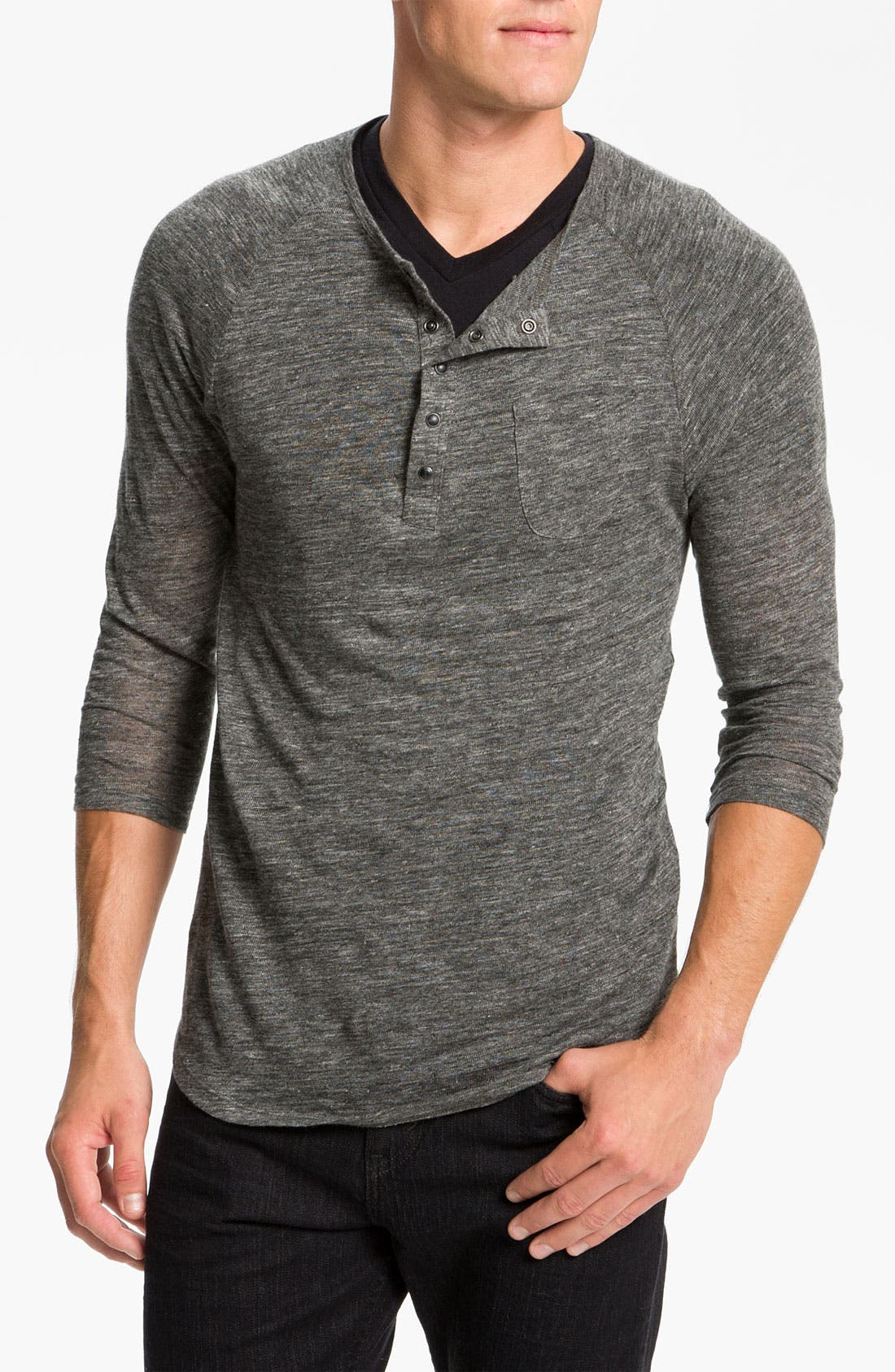 Alternate Image 1 Selected - Joe's Linen Henley