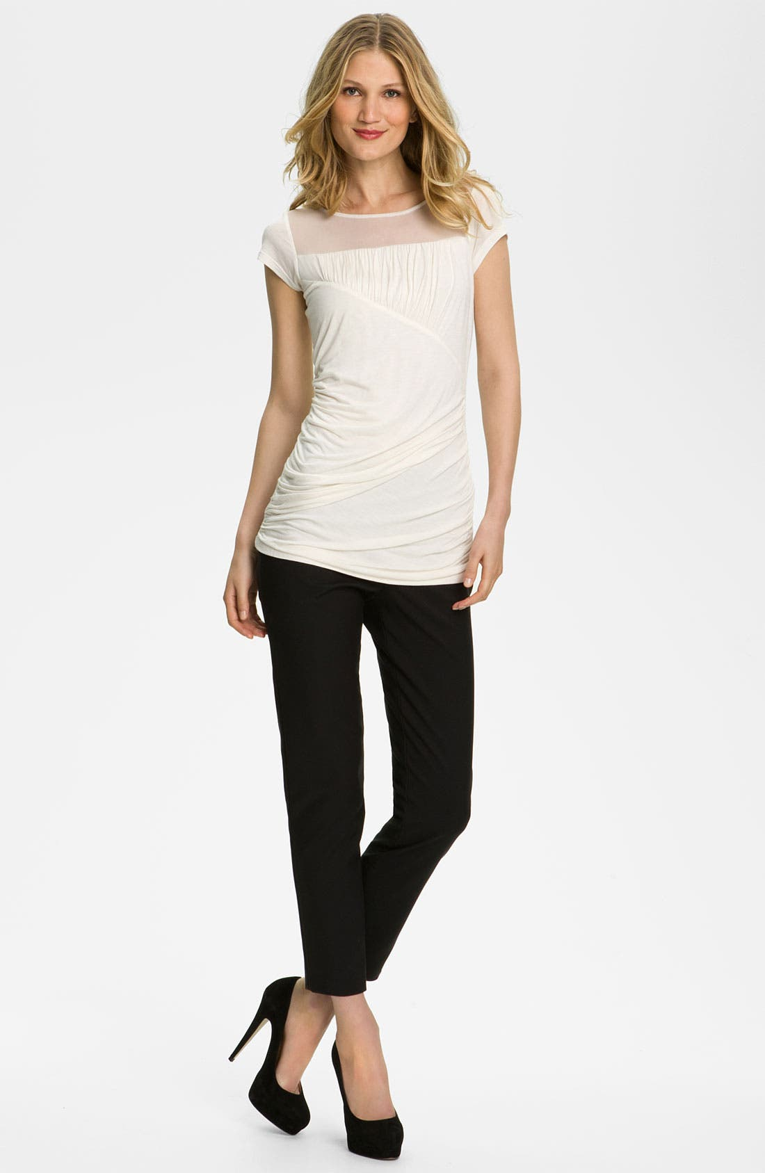 Alternate Image 3  - Kenneth Cole New York 'Chloe' Cigarette Pants (Petite)