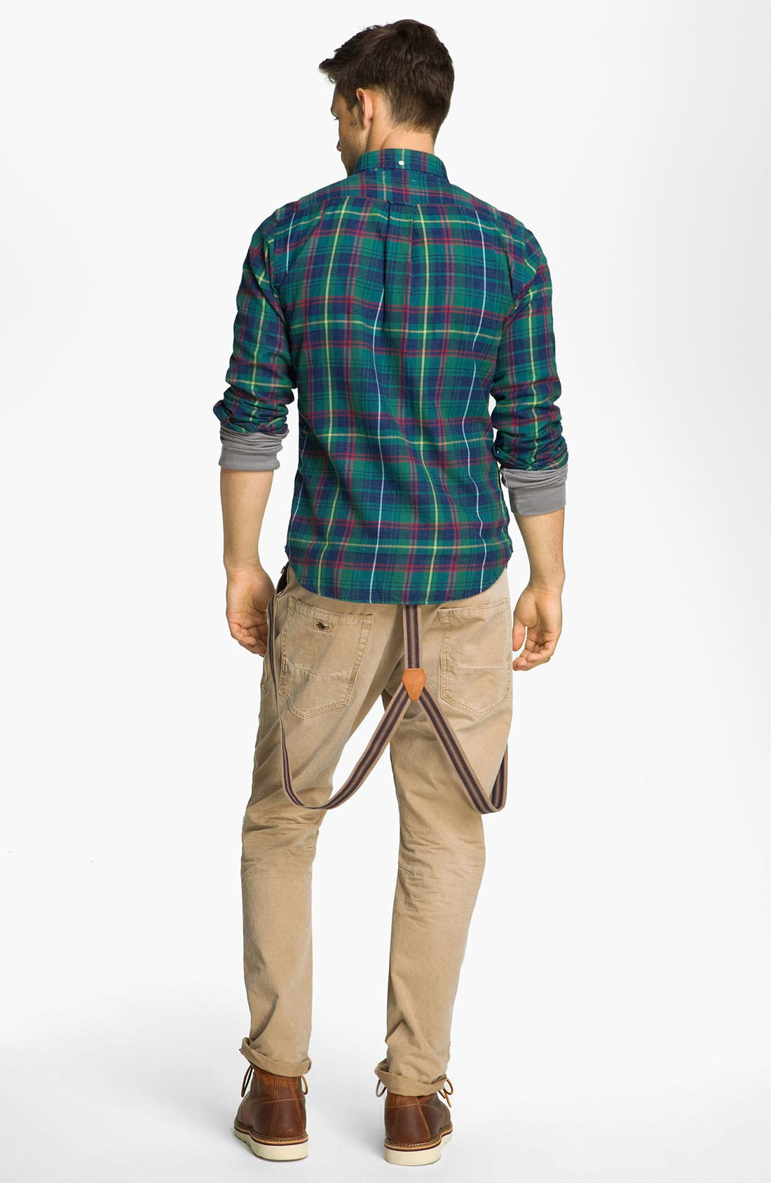 Alternate Image 4  - Scotch & Soda 'Brewer' Slim Tapered Leg Twill Pants