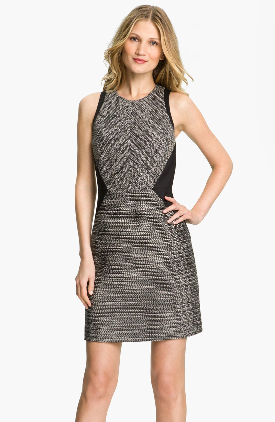 Alternate Image 1 Selected - Kenneth Cole New York 'Isabella' Twisted Yarn Dress (Petite)