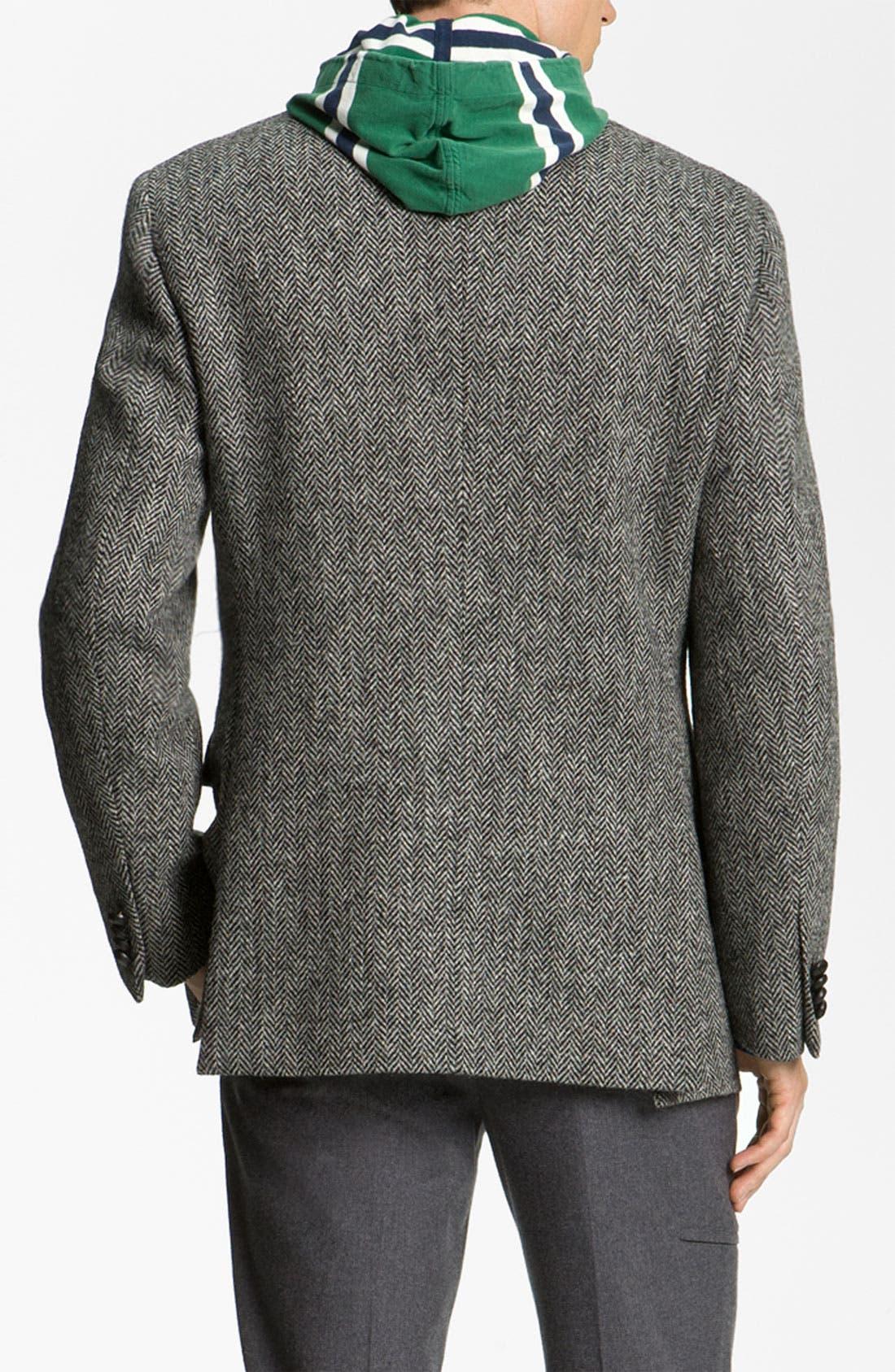 Alternate Image 2  - John W. Nordstrom® Herringbone Sportcoat
