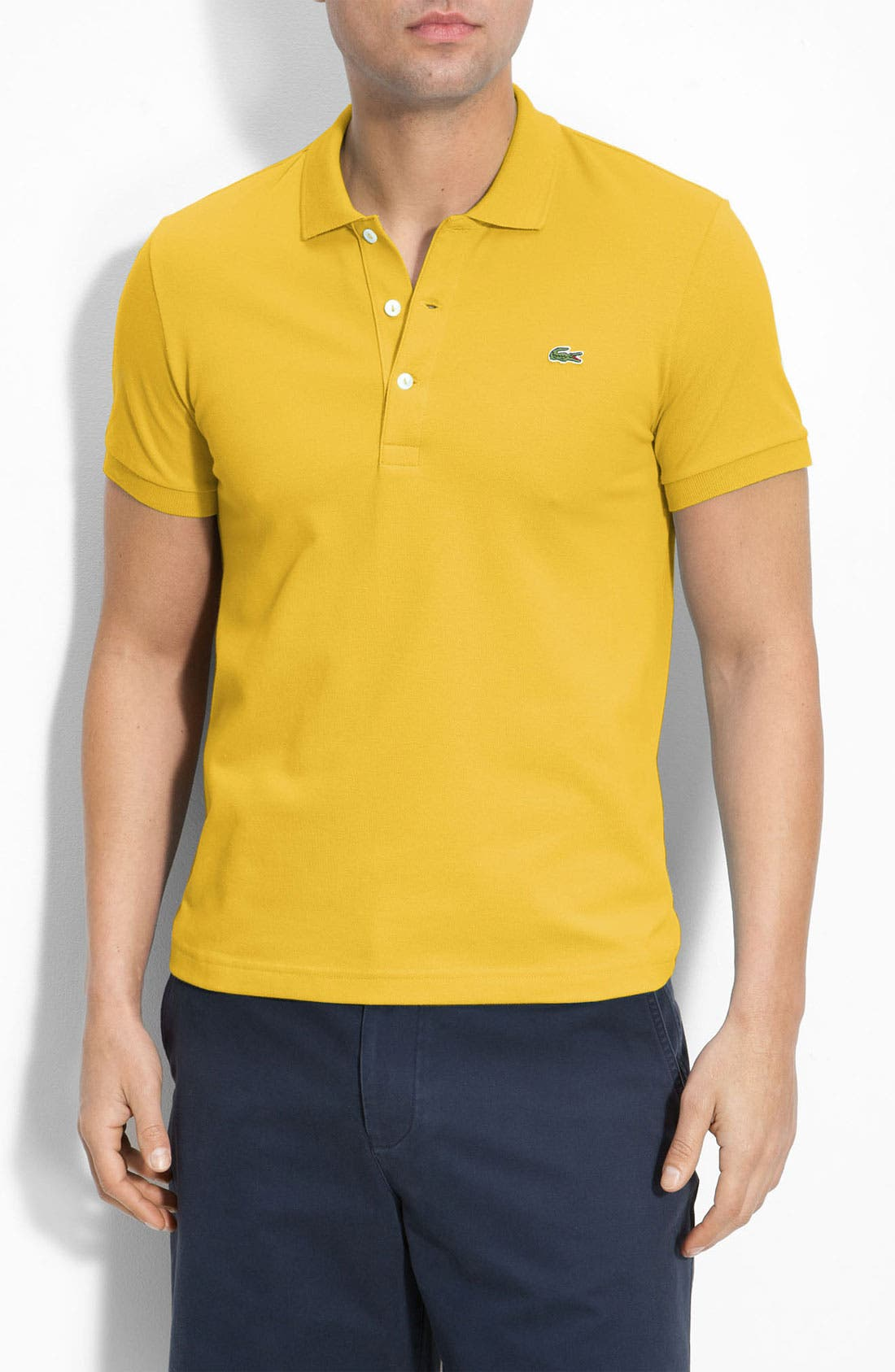 Alternate Image 1 Selected - Lacoste Stretch Piqué Polo