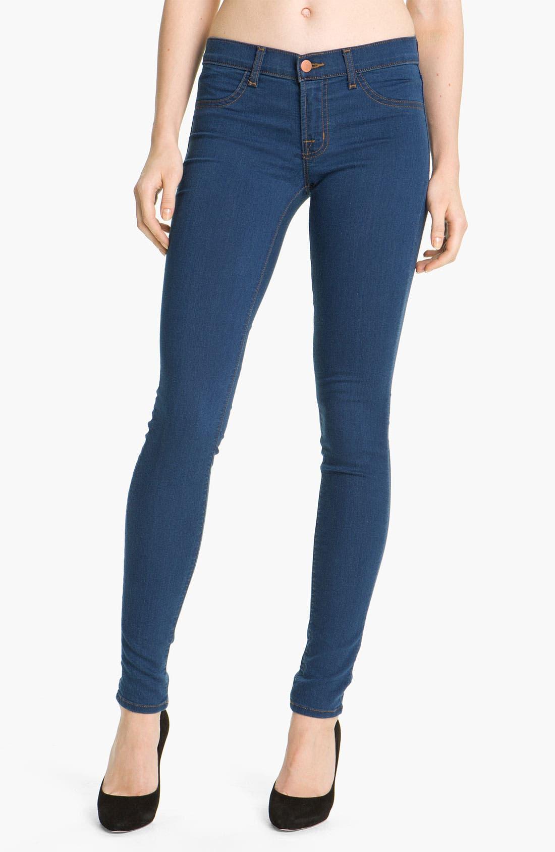 Alternate Image 1 Selected - J Brand 'Legging' Stretch Jeans (Salton)