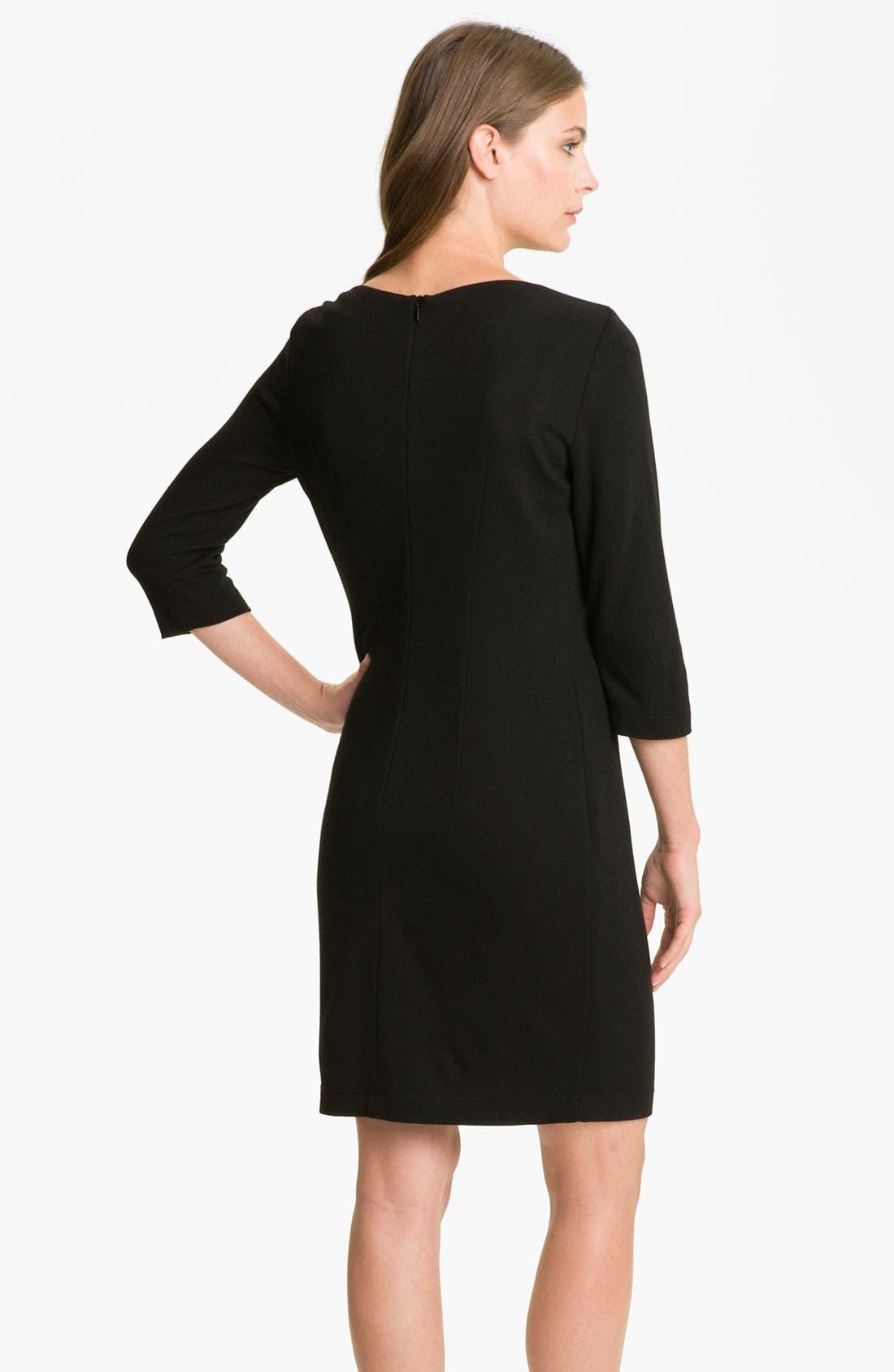 Alternate Image 2  - BOSS Black 'Halay' Dress