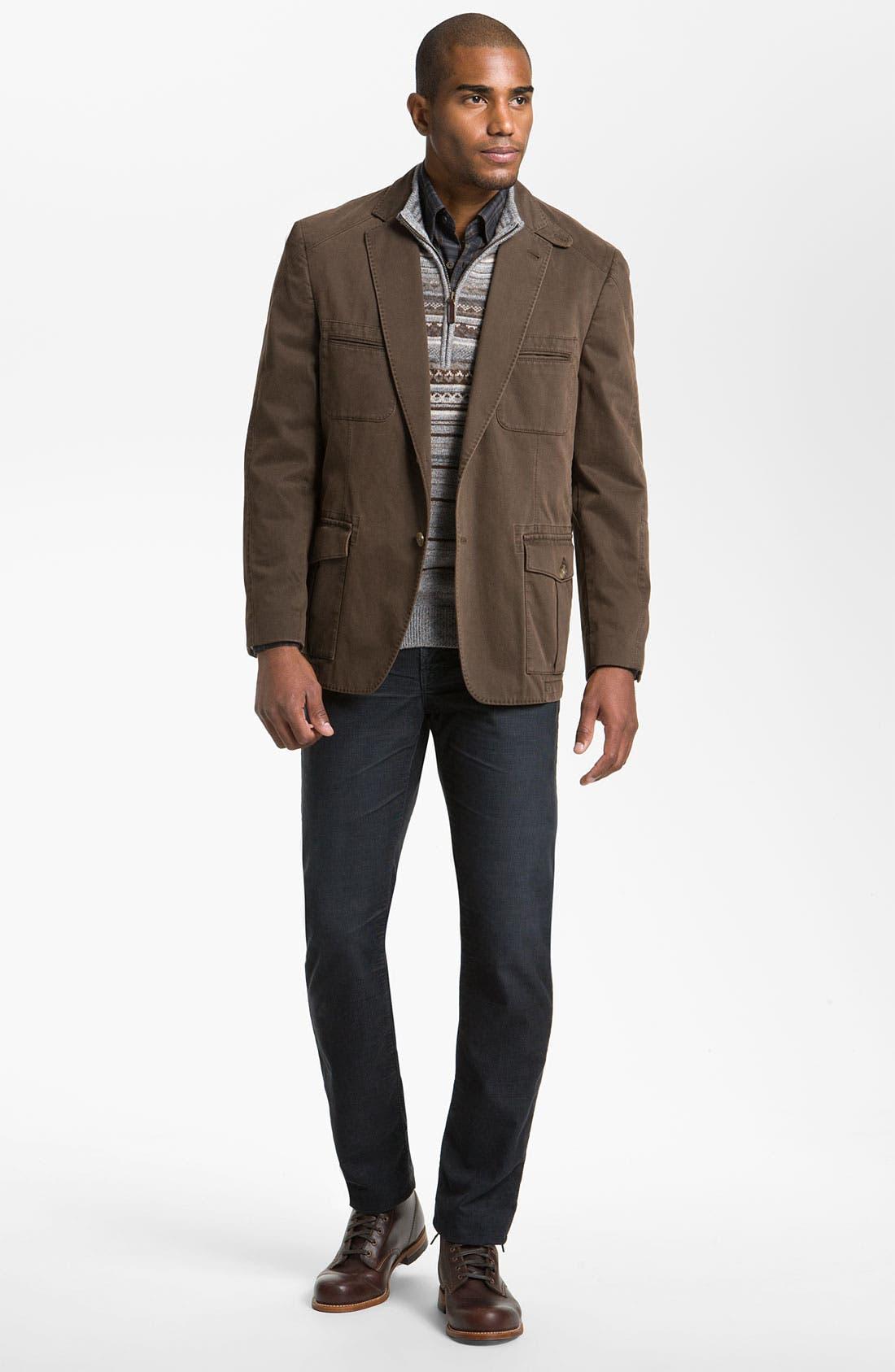 Alternate Image 4  - Kroon 'Matthews' Brushed Cotton Sportcoat