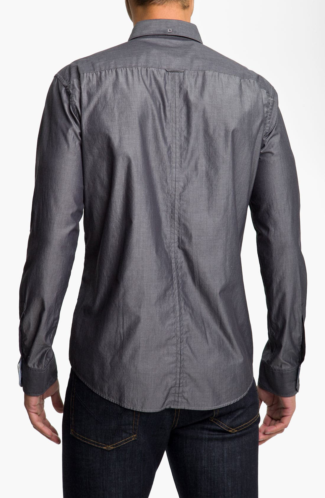 Alternate Image 2  - BOSS Black 'Rex' Slim Fit Sport Shirt