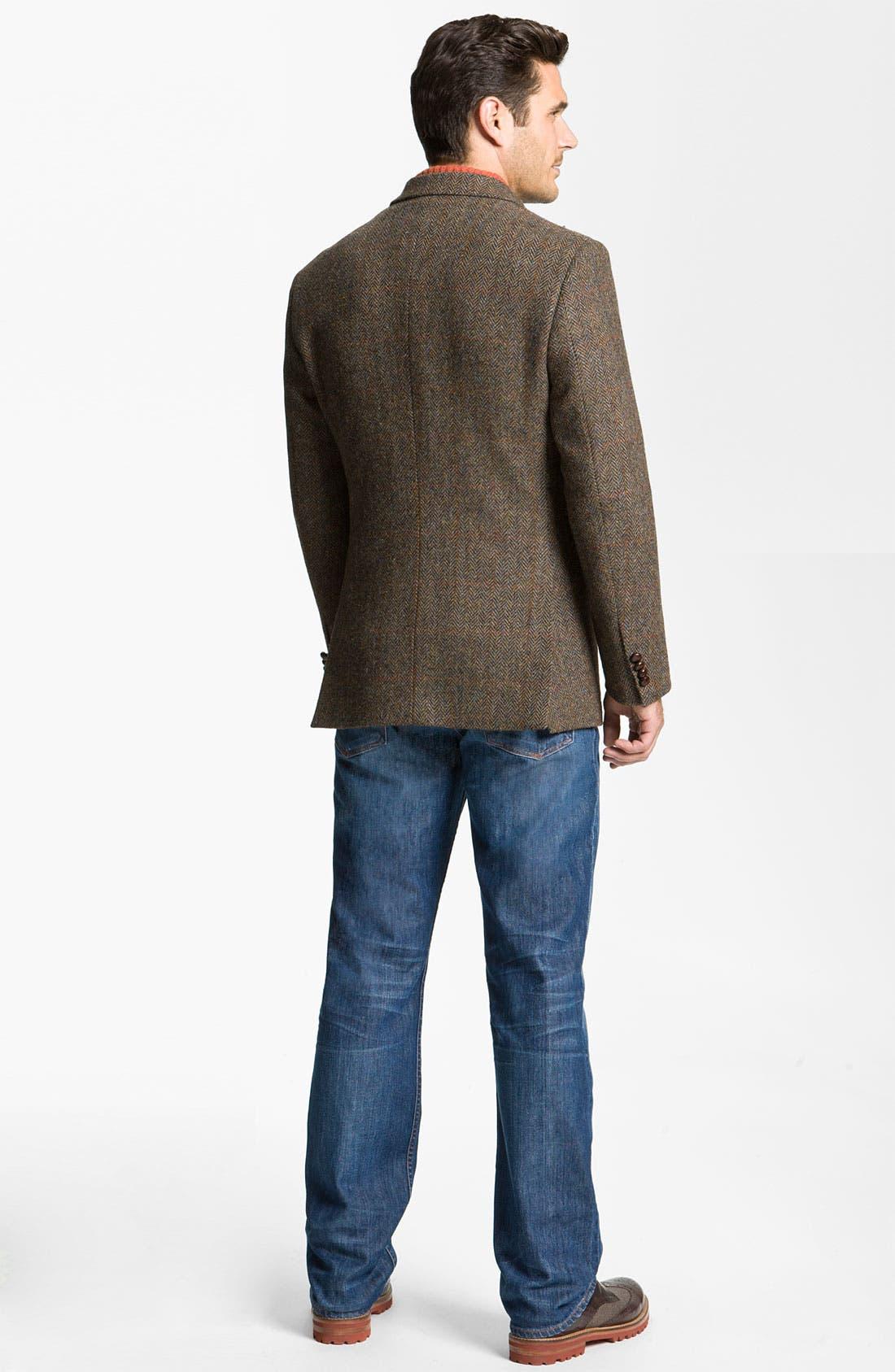 Alternate Image 5  - John W. Nordstrom® Herringbone Sportcoat
