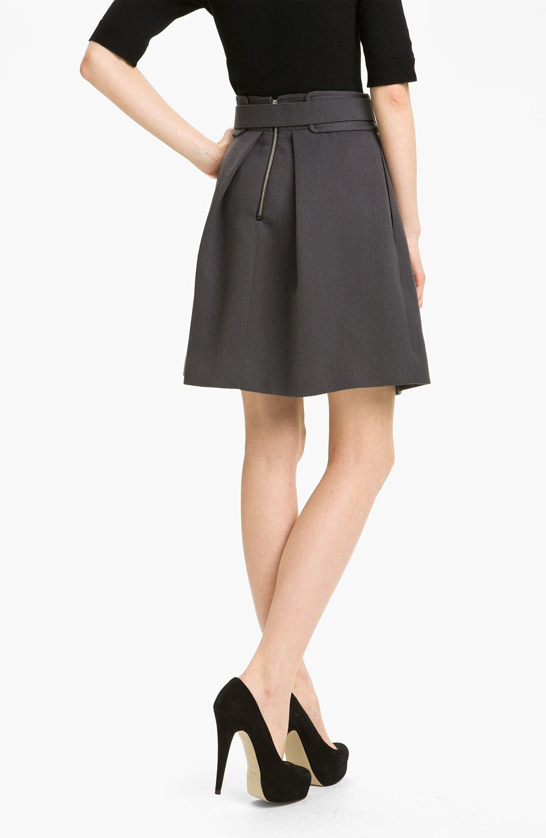 Alternate Image 2  - Milly 'Aude' Wool Skirt