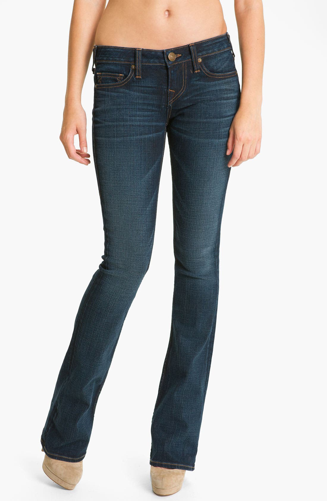 Alternate Image 1 Selected - True Religion Brand Jeans 'Bobby' Boot Cut Jeans (Tim Luckdraw)