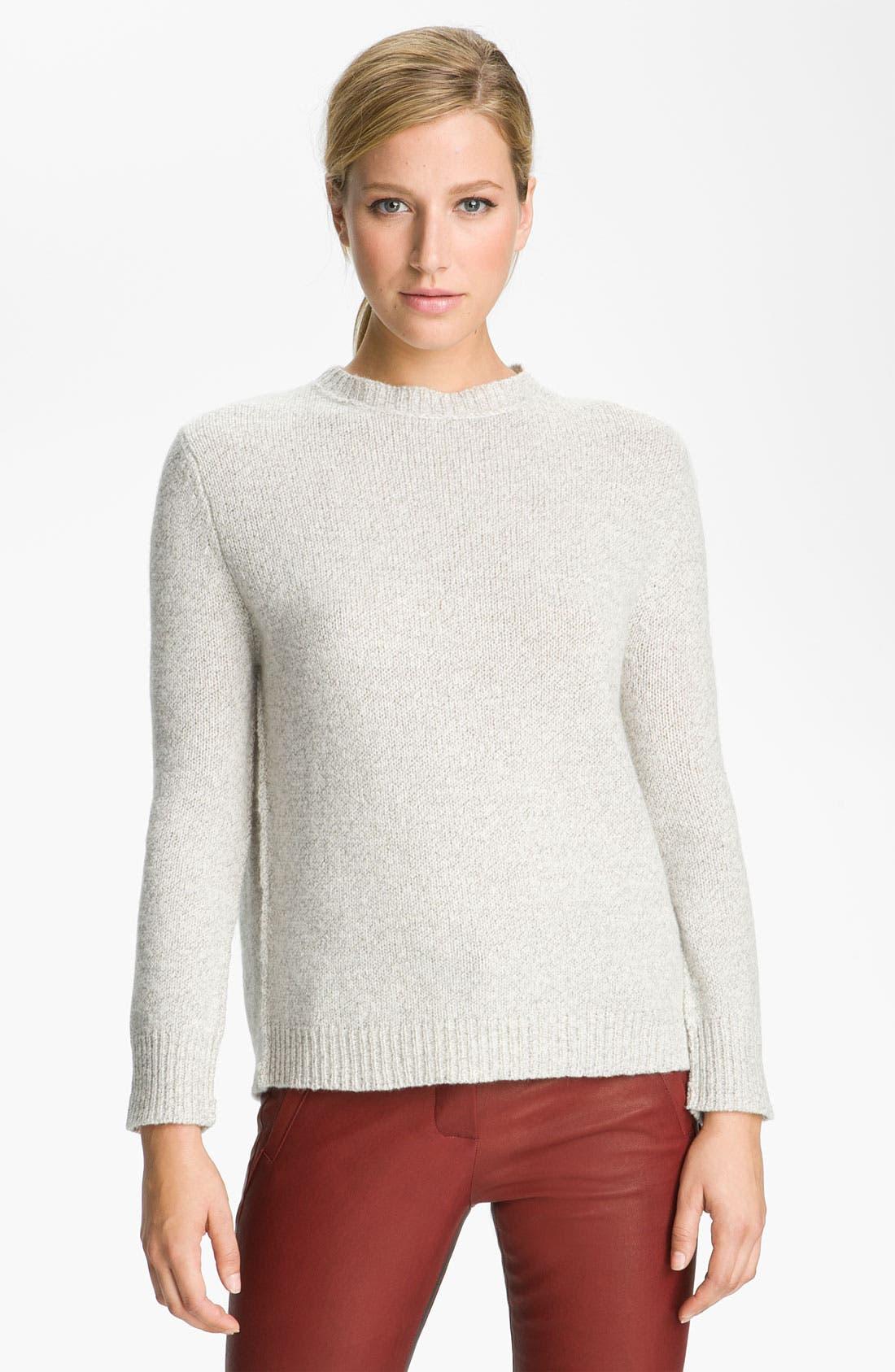 Main Image - A.L.C. Split Back Knit Sweater