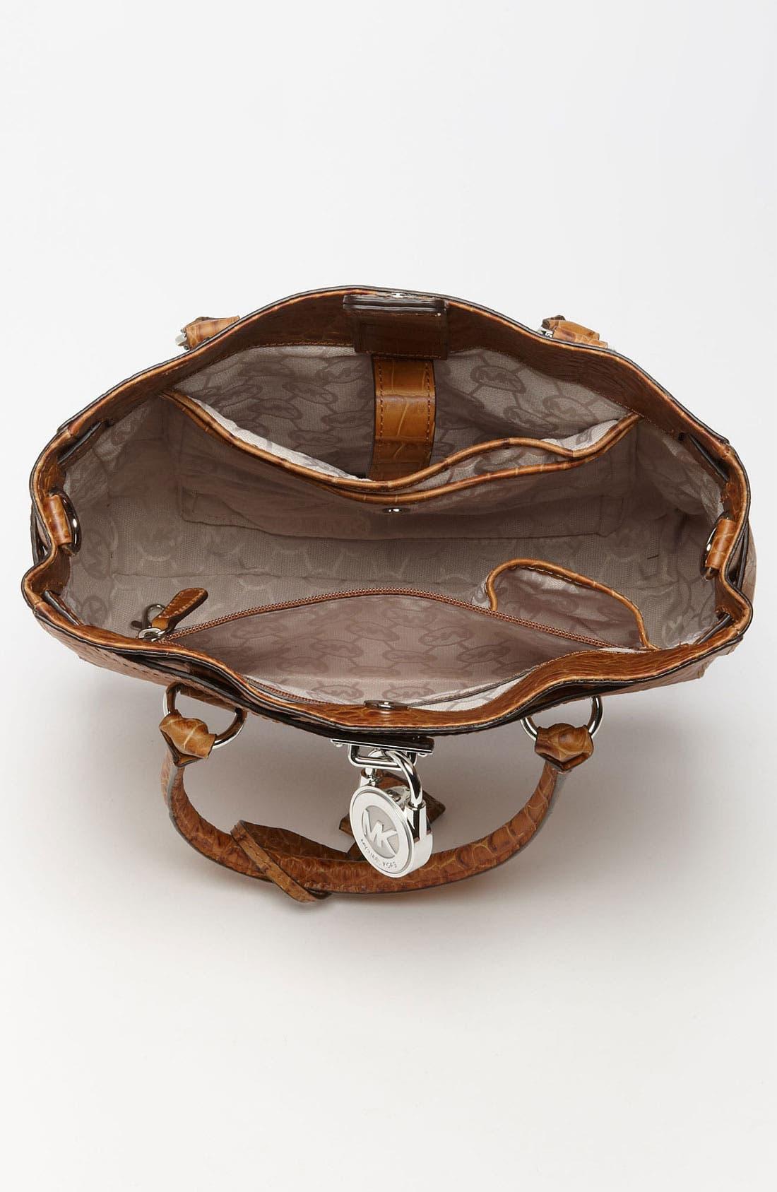 Alternate Image 3  - MICHAEL Michael Kors 'Hamilton' Leather Tote