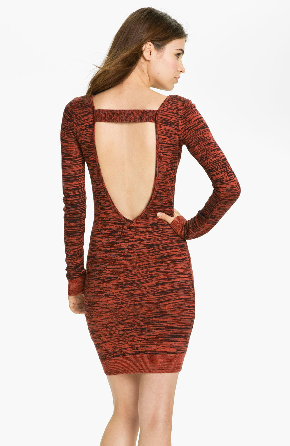 Alternate Image 2  - Rebecca Minkoff 'Essef' Silk & Cashmere Sweater Dress
