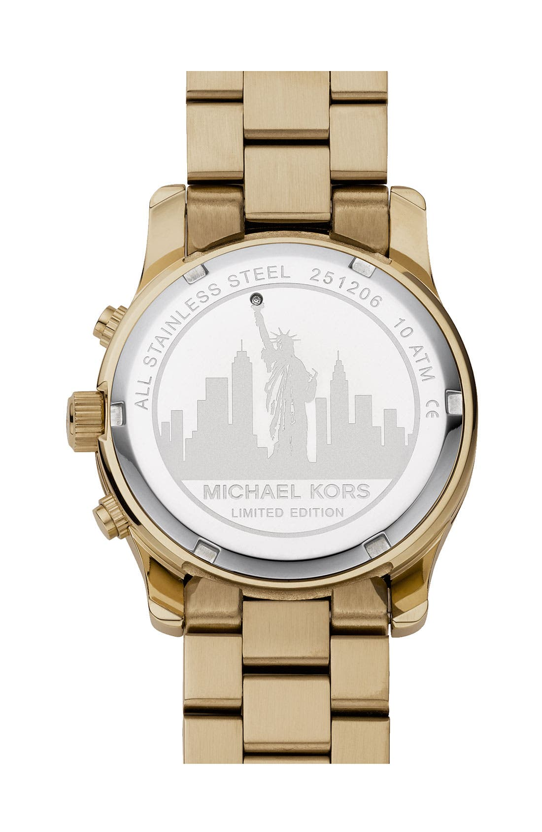 Alternate Image 2  - Michael Kors 'Runway - New York' Chronograph Bracelet Watch, 38mm (Limited Edition)