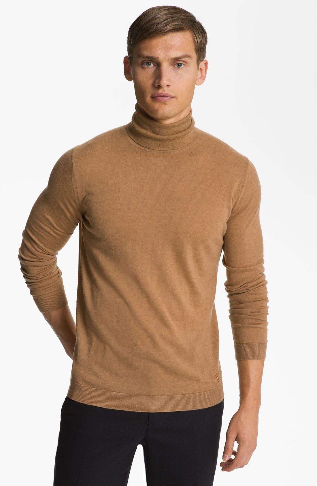 Main Image - Pringle of Scotland Merino Wool Turtleneck Sweater
