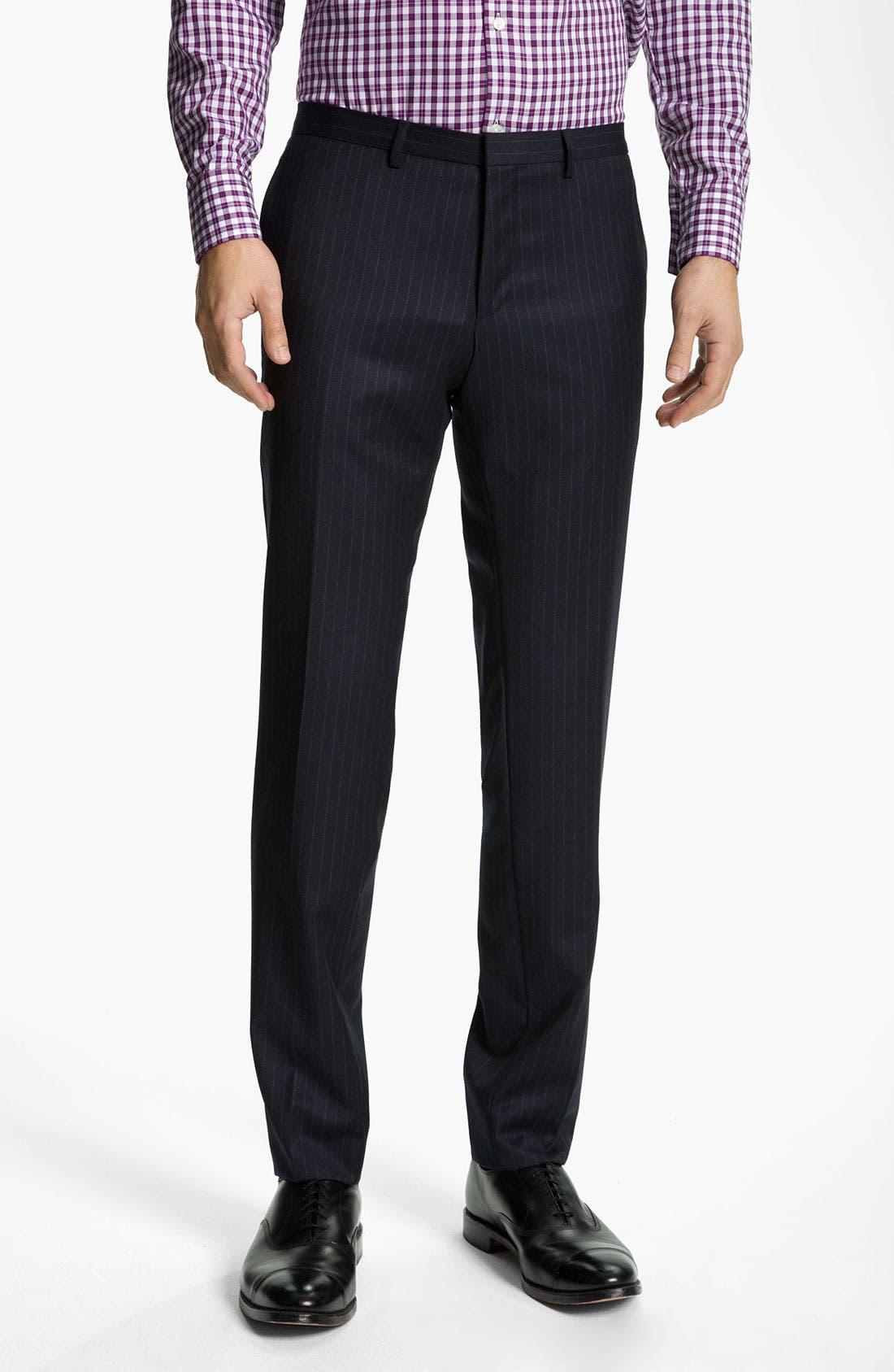 Alternate Image 4  - BOSS Black 'Rusty/Win' Stripe Suit