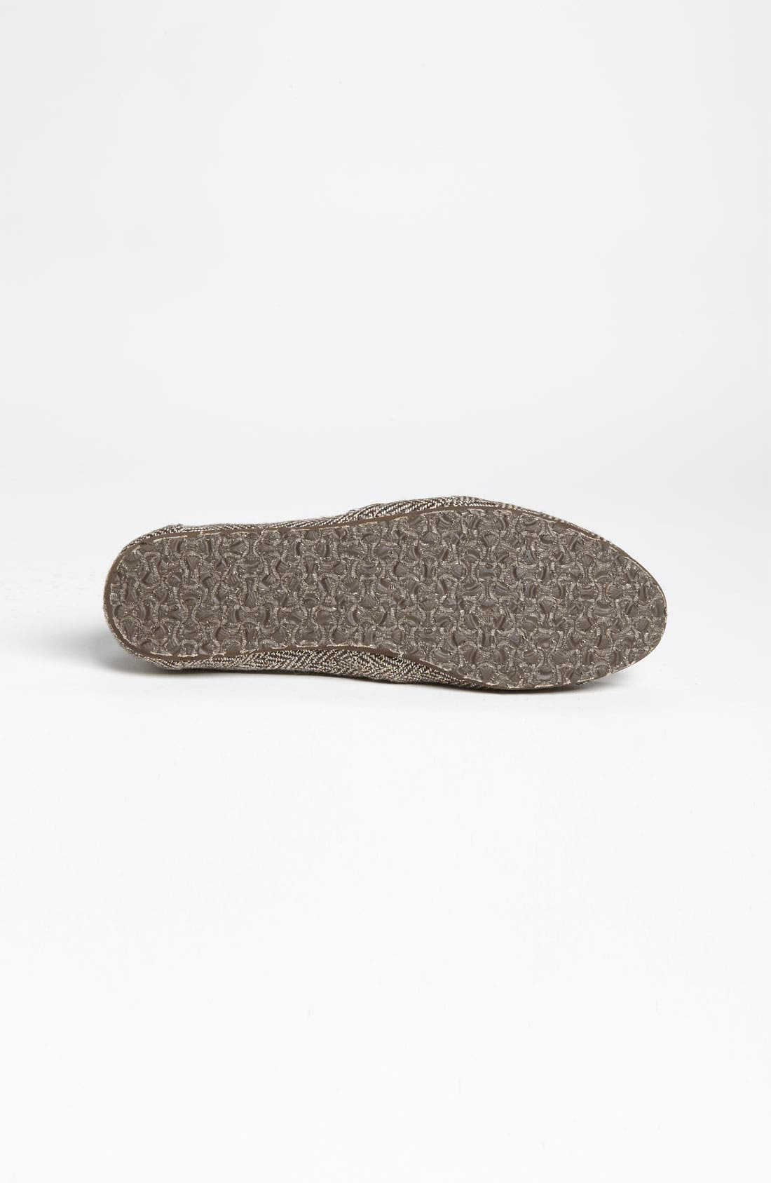 Alternate Image 4  - TOMS 'Classic' Metallic Herringbone Slip-On (Women)