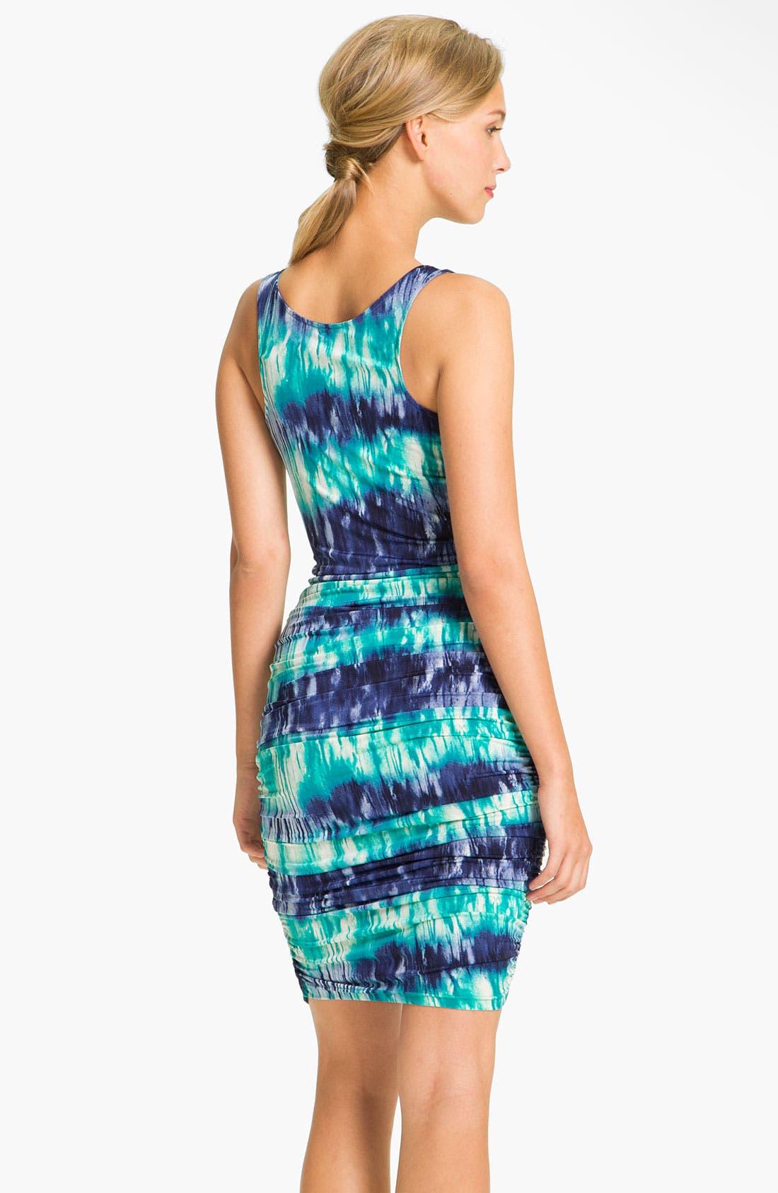 Alternate Image 2  - Abi Ferrin Tie Dye Ruched Jersey Dress