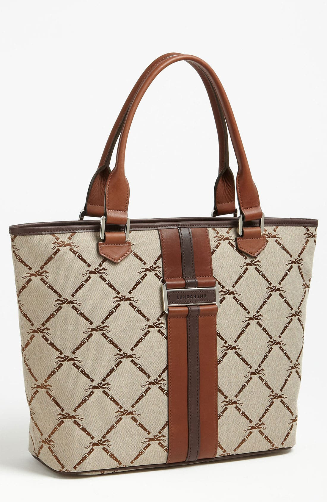 Main Image - Longchamp 'LM Jacquard' Shoulder Bag