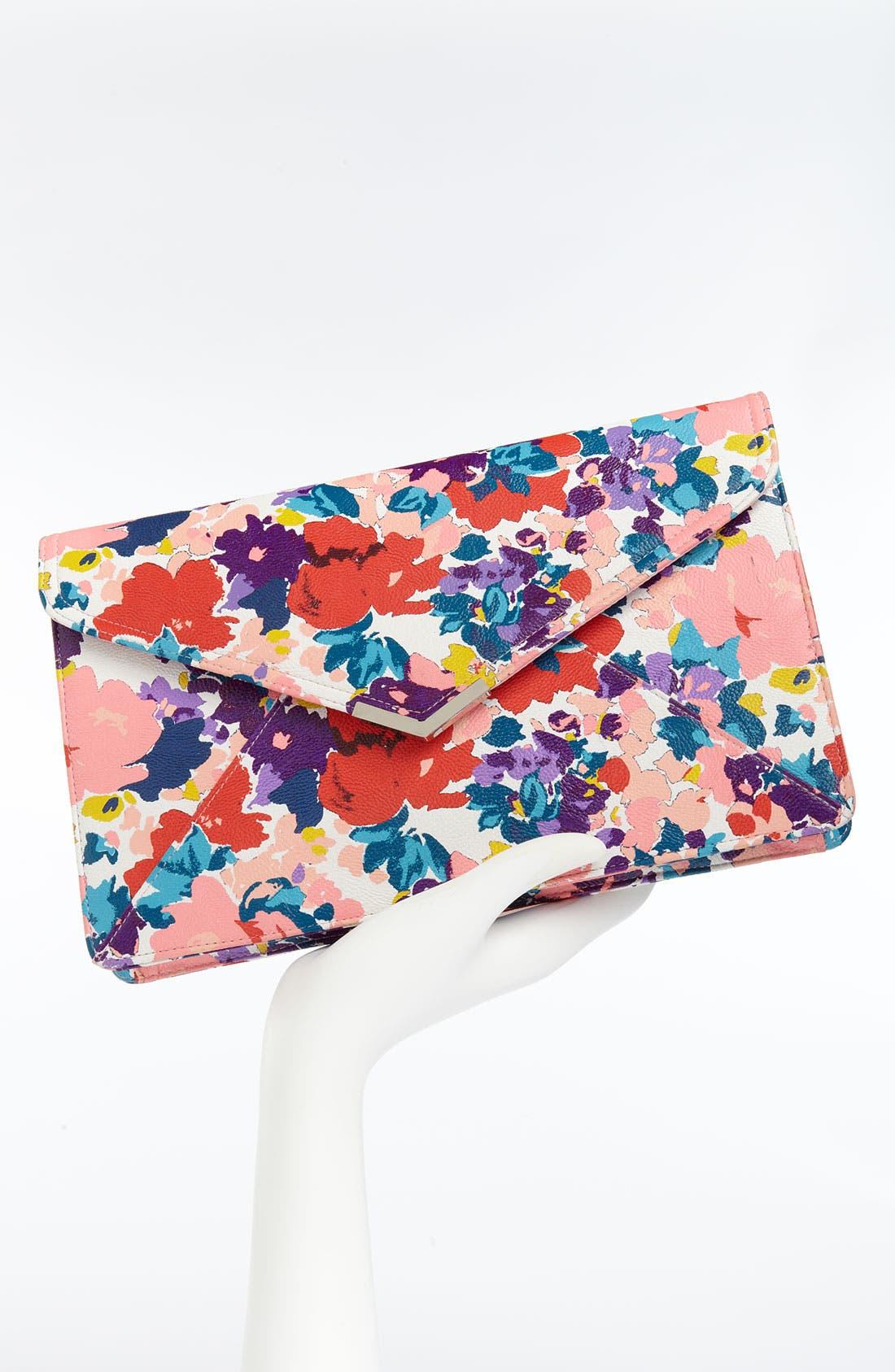 Alternate Image 2  - Lulu Floral Clutch