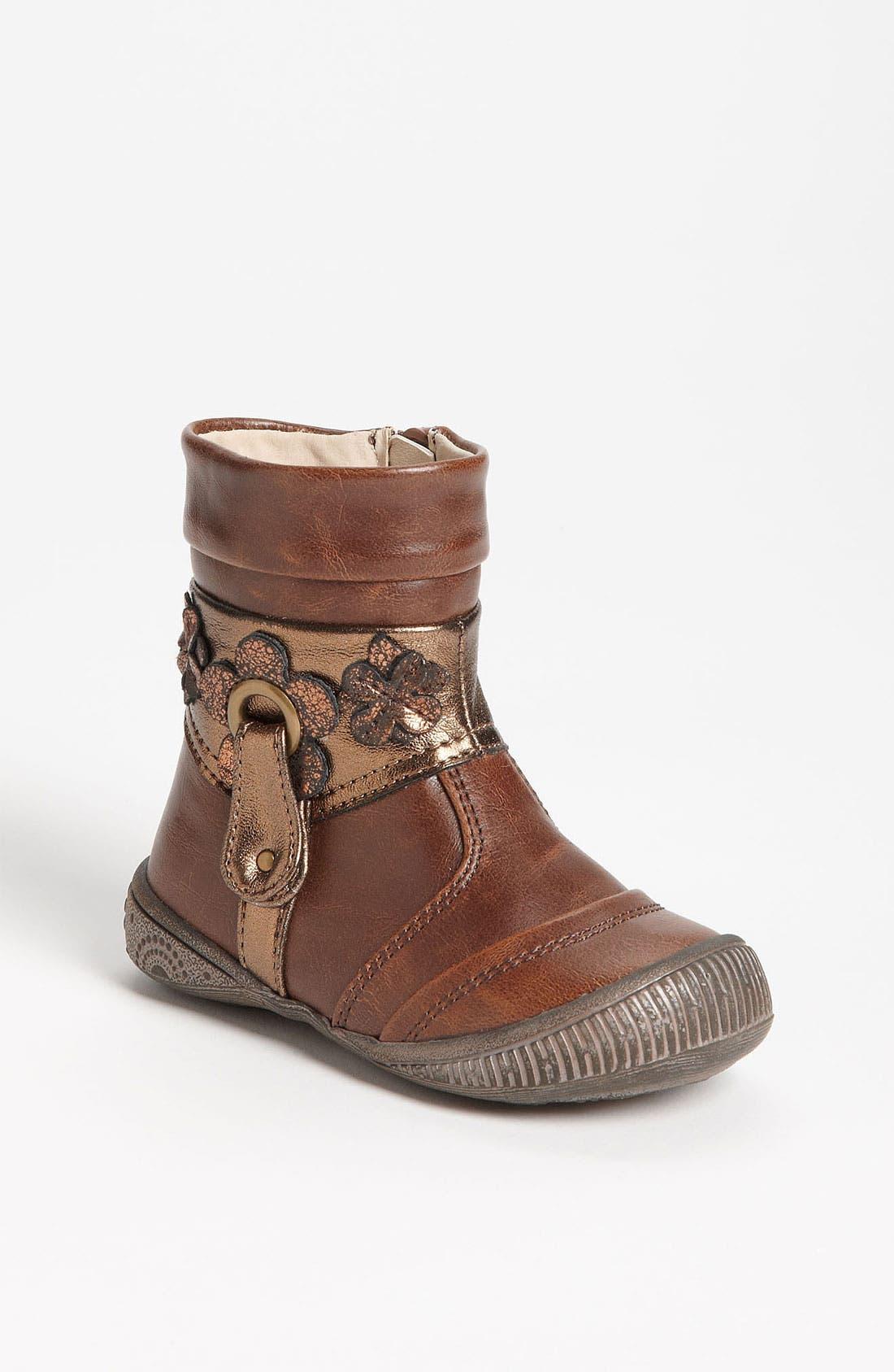 Alternate Image 1 Selected - kensie girl 'Flower' Boot (Walker & Toddler)