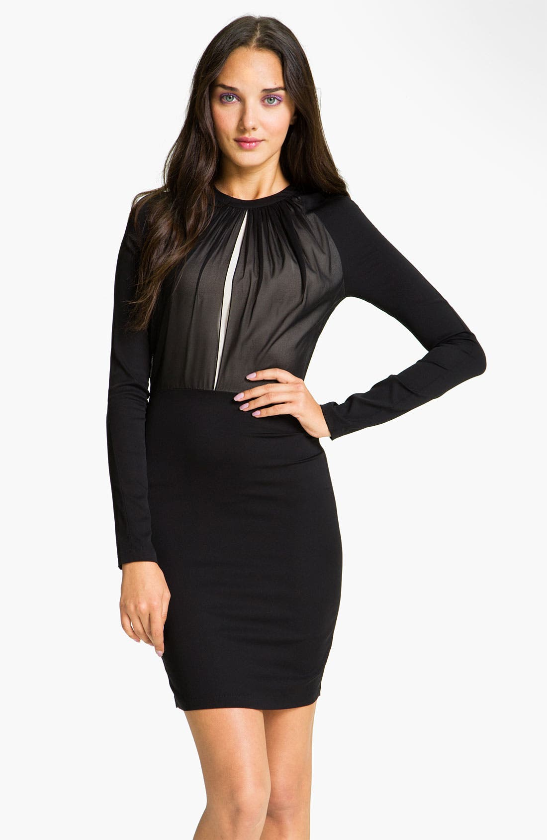 Alternate Image 1 Selected - Robert Rodriguez Chiffon Dress