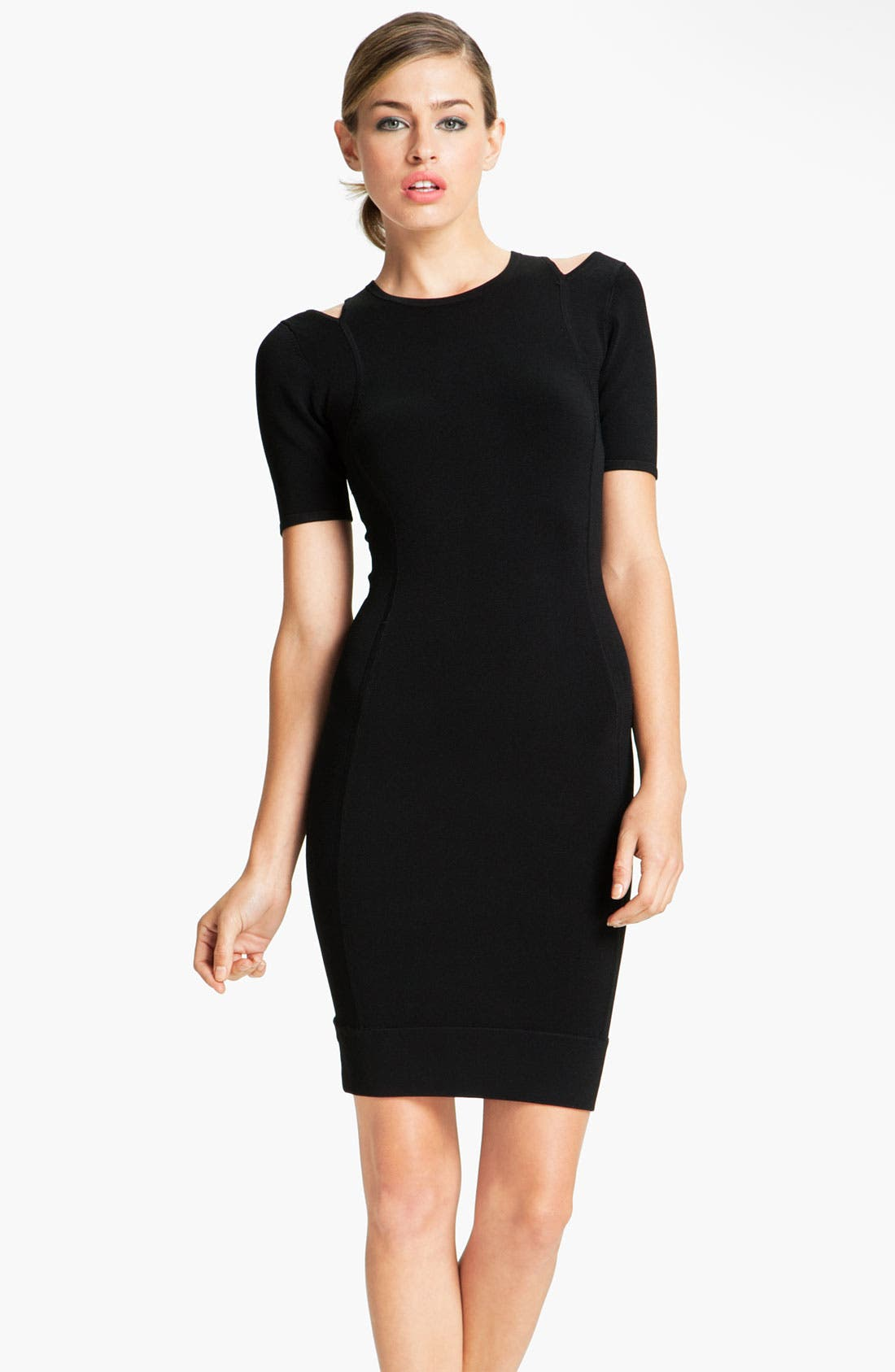 Alternate Image 1 Selected - French Connection 'Dani' Cutout Crepe Sheath Dress