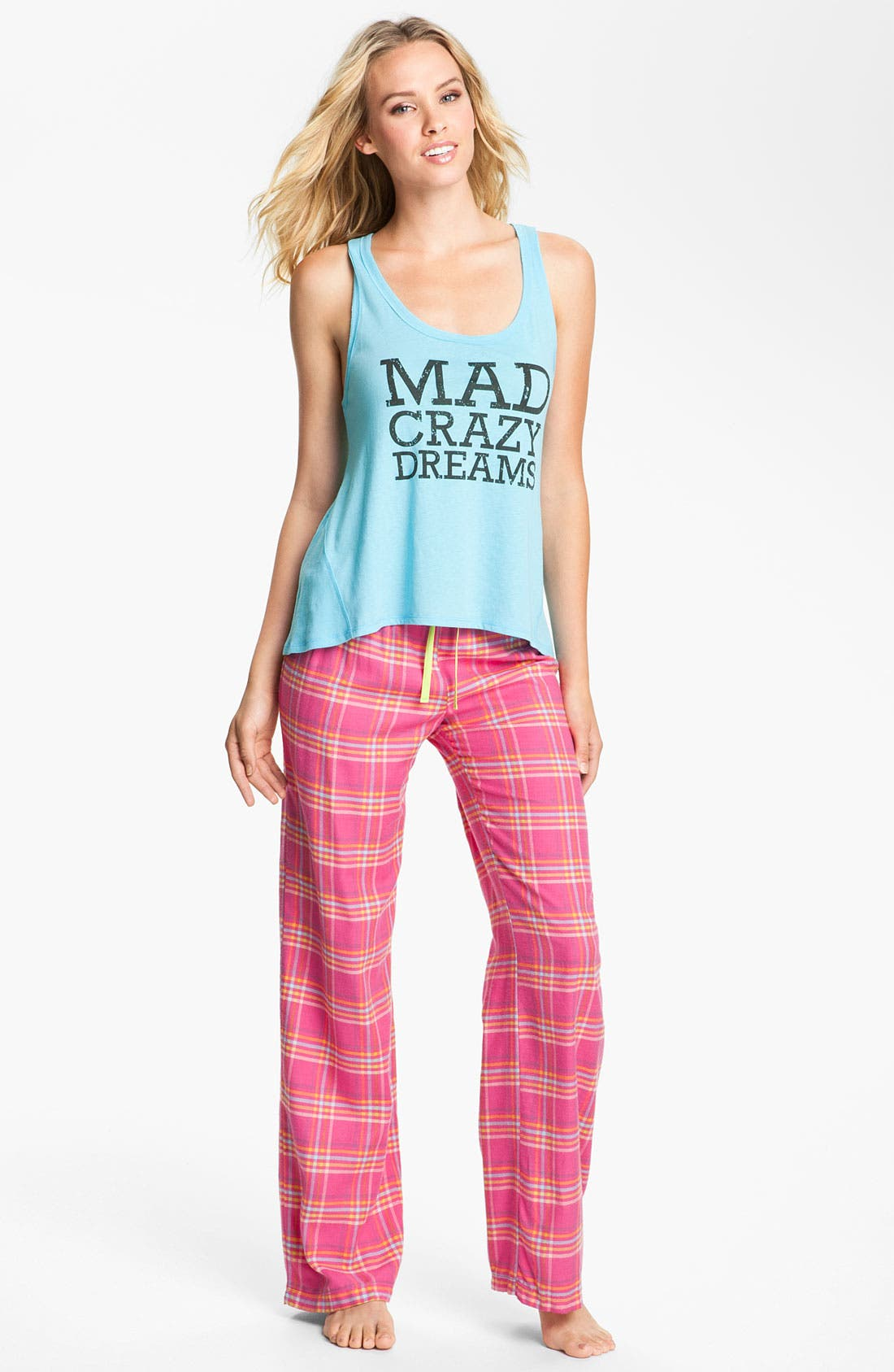 Alternate Image 4  - Steve Madden 'Mad4Plaid' Pajama Pants