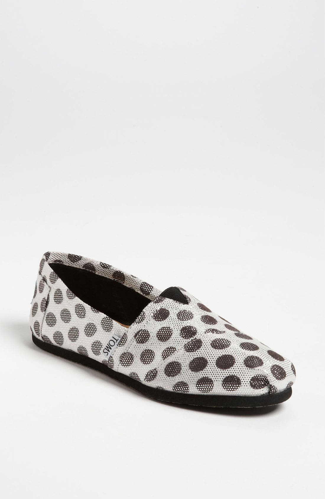Alternate Image 1 Selected - TOMS 'Classic - Metallic Dot' Slip-On (Women)