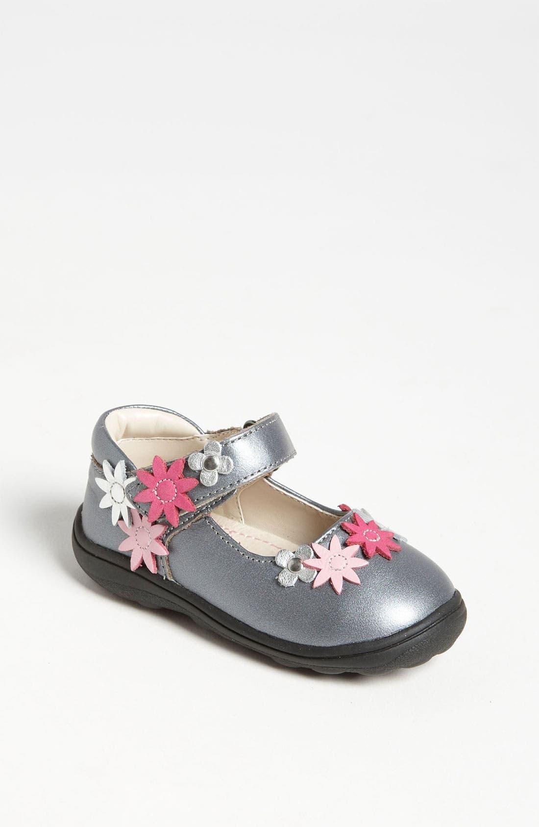 Alternate Image 1 Selected - Umi 'Flora' Mary Jane (Walker & Toddler)