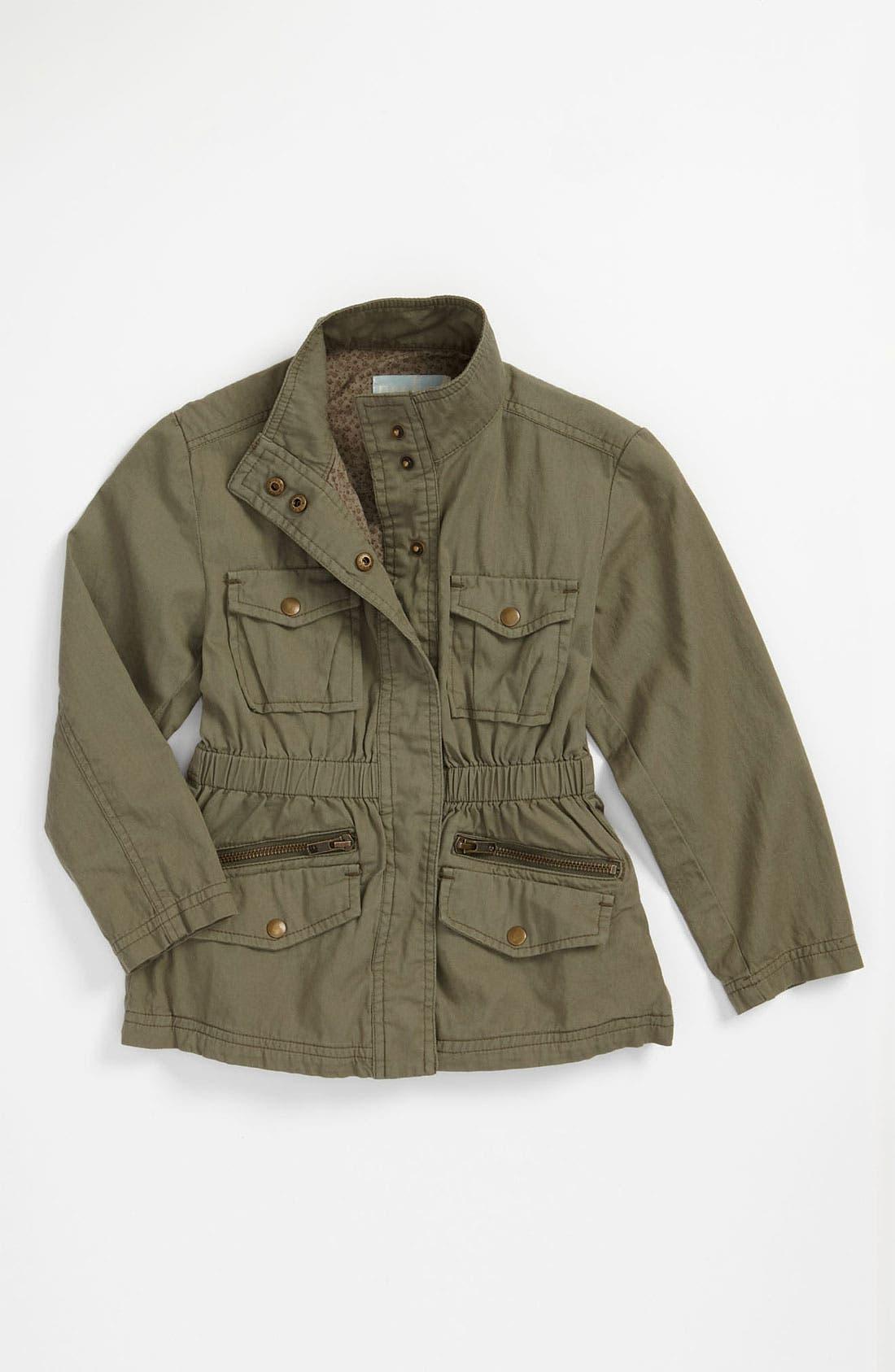 Alternate Image 1 Selected - Peek Safari Jacket (Toddler, Little Girls & Big Girls)