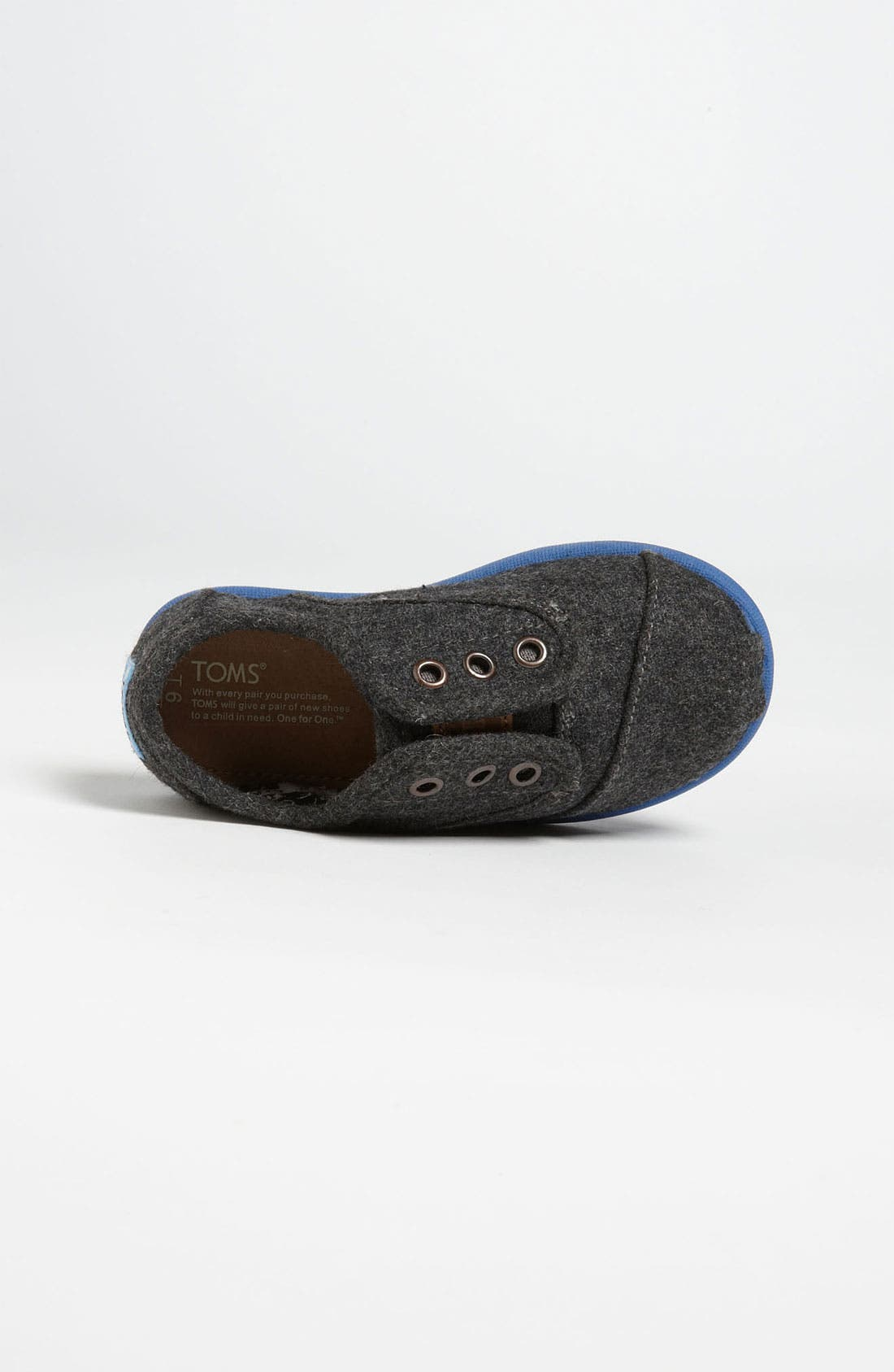 Alternate Image 3  - TOMS 'Cordones - Tiny' Slip-On (Baby, Walker & Toddler)