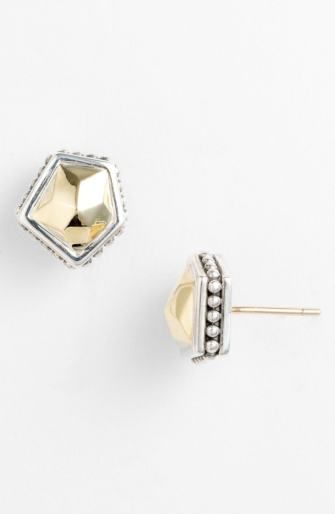 Main Image - LAGOS 'Rocks' Angled Two Tone Earrings