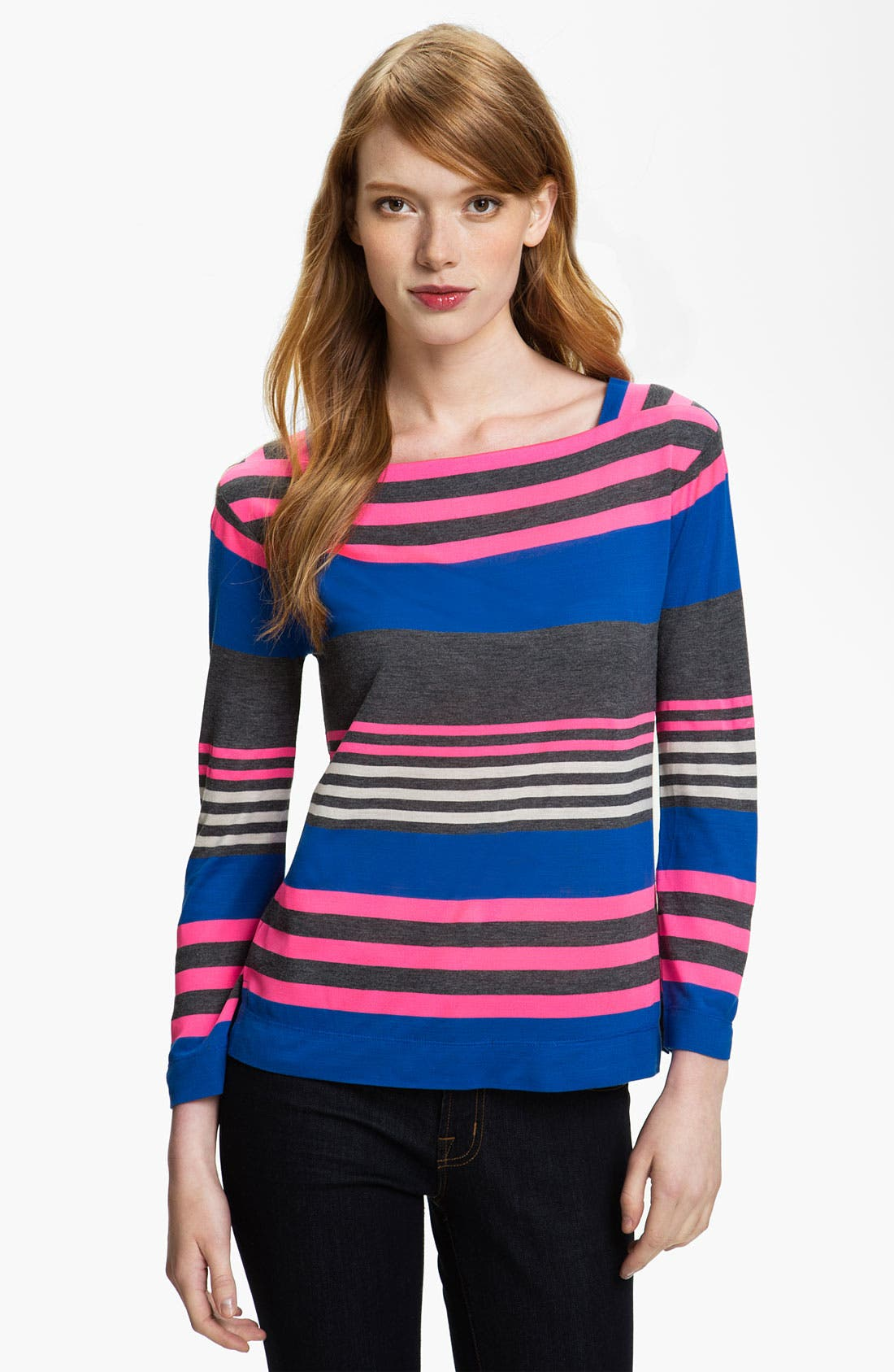 Alternate Image 1 Selected - MARC BY MARC JACOBS 'Flash' Stripe Top