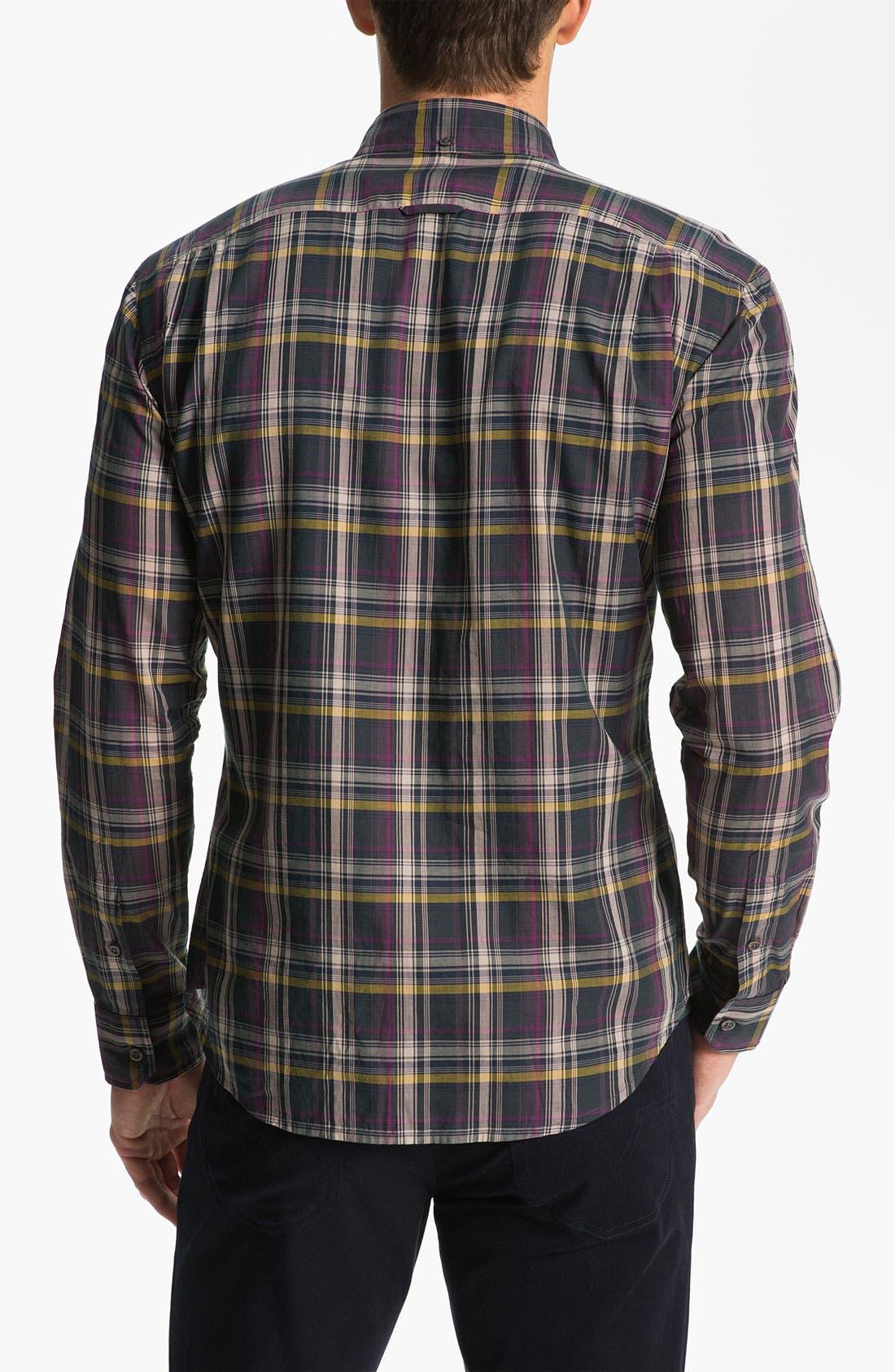 Alternate Image 2  - Vince Plaid Woven Shirt