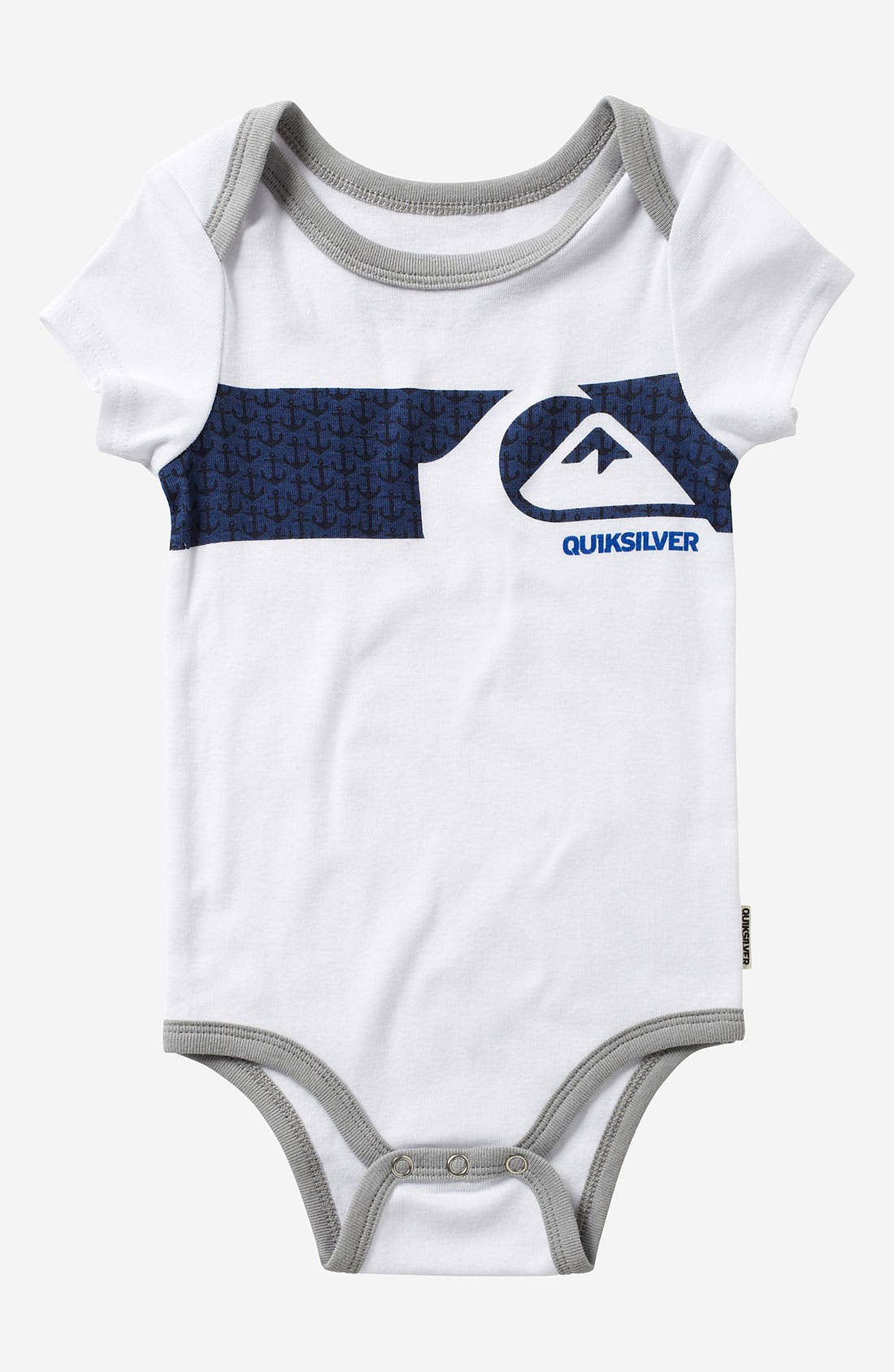 Alternate Image 2  - Quiksilver Bodysuit (2-Pack) (Infant)