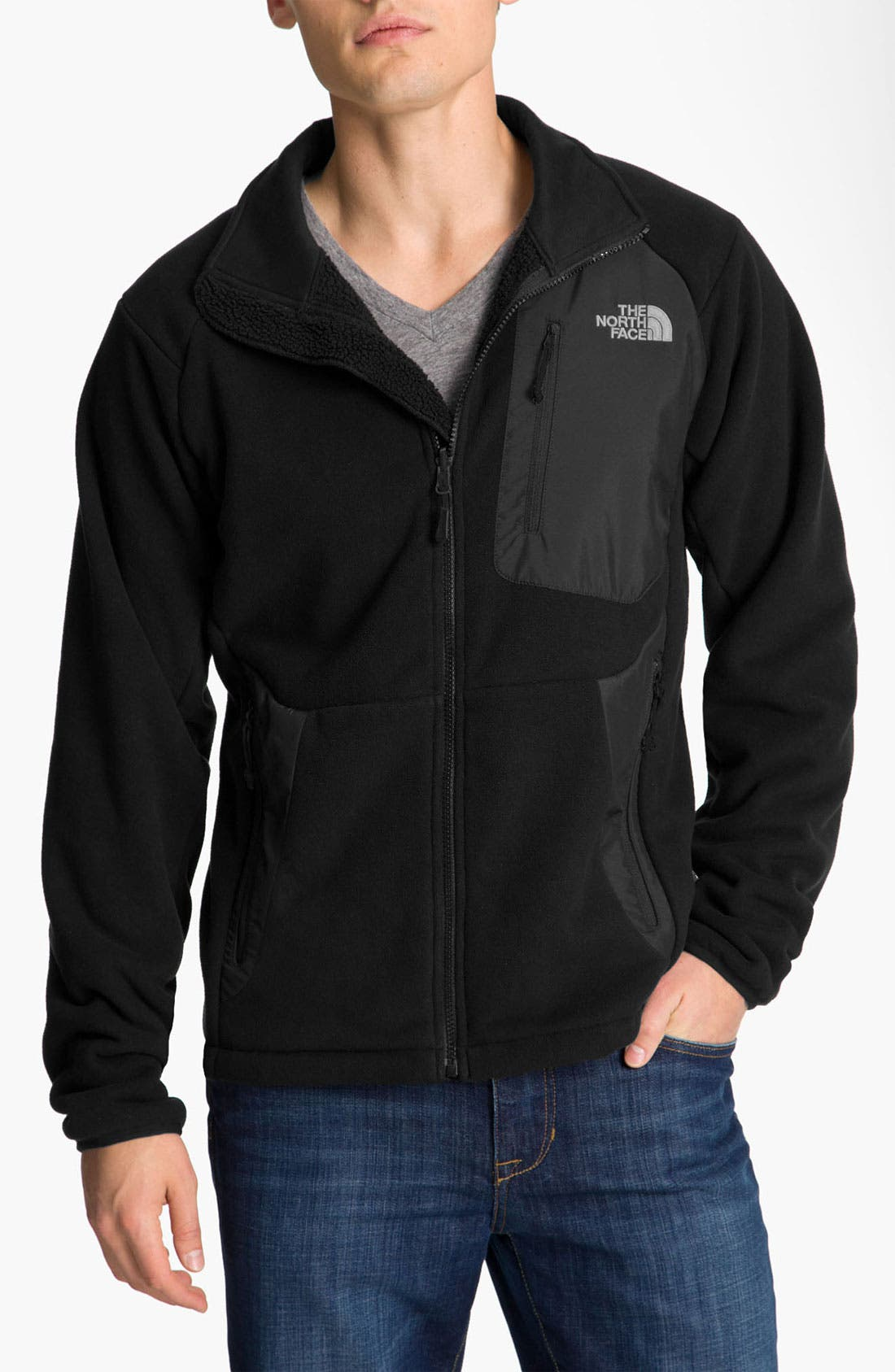 Alternate Image 1 Selected - The North Face 'Angile' Fleece Jacket