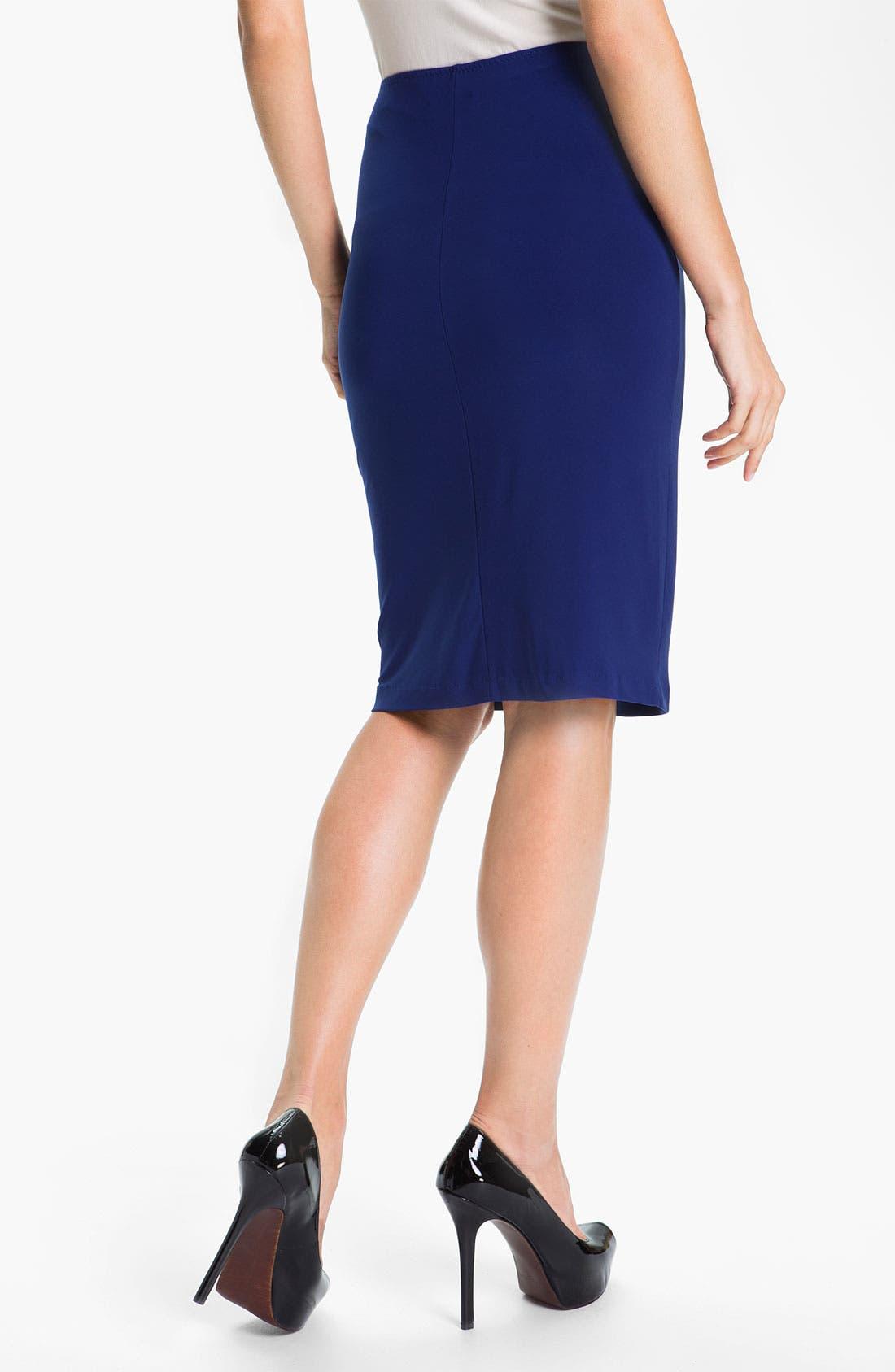 Alternate Image 2  - KAMALIKULTURE Pull-On Knit Pencil Skirt