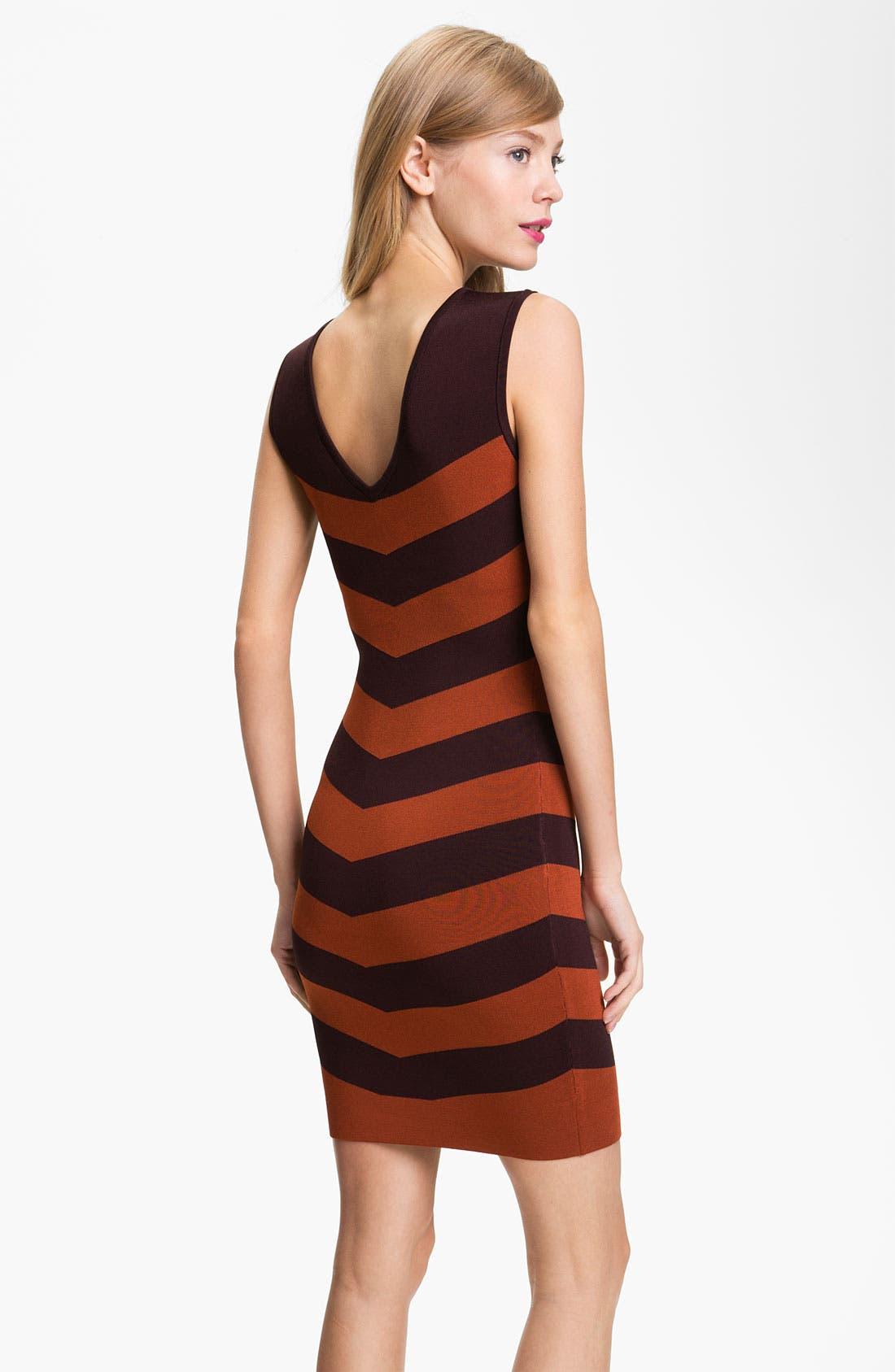 Alternate Image 2  - Ted Baker London Stripe Shift Dress