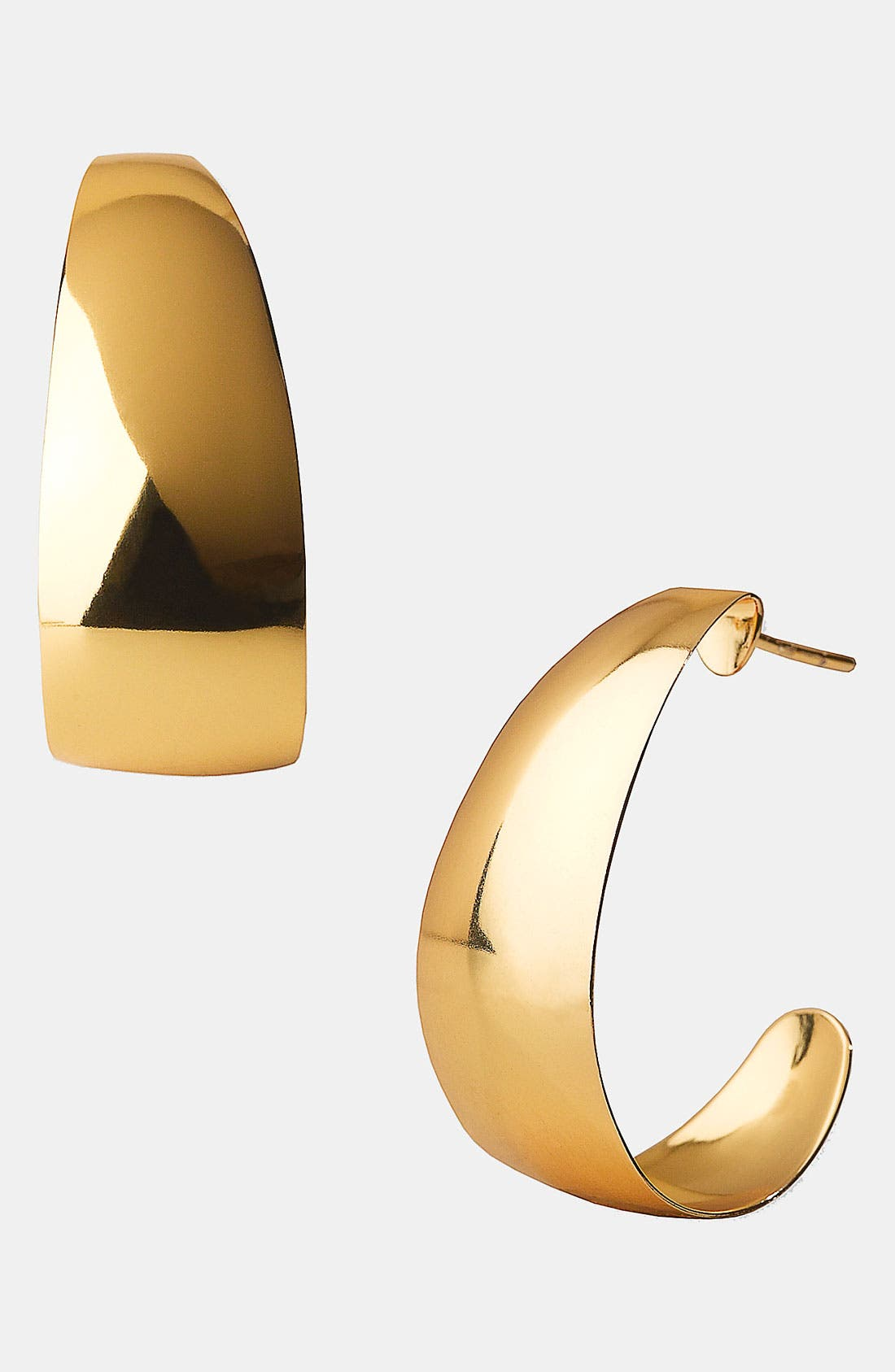Main Image - Argento Vivo 'Metropolis' J-Hoop Earrings