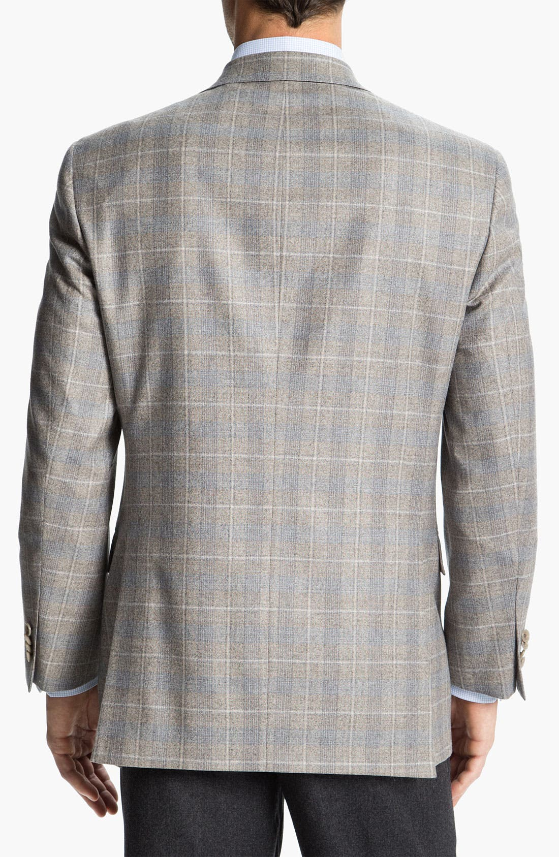 Alternate Image 2  - Hart Schaffner Marx Plaid Wool Sportcoat