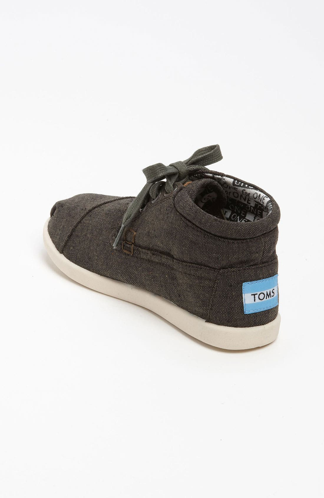 Alternate Image 2  - TOMS 'Botas - Youth' Chambray Boot (Toddler, Little Kid & Big Kid)